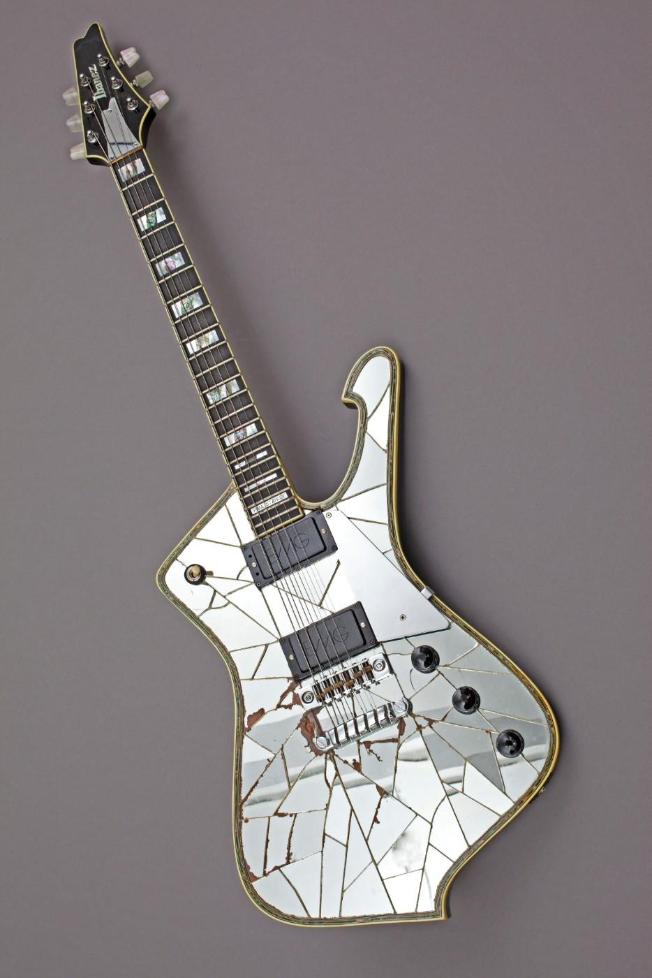 Paul Stanley of KISS collaborated with Jeff Hasselberger of Ibanez to create this guitar. Stanley used in live performances with KISS in 1979-80 and again in 1996-97.