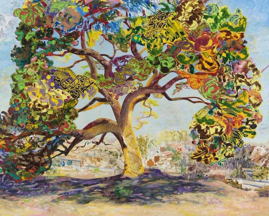 Mary Lou Zelazny, The Eyed Tree #4, 2015