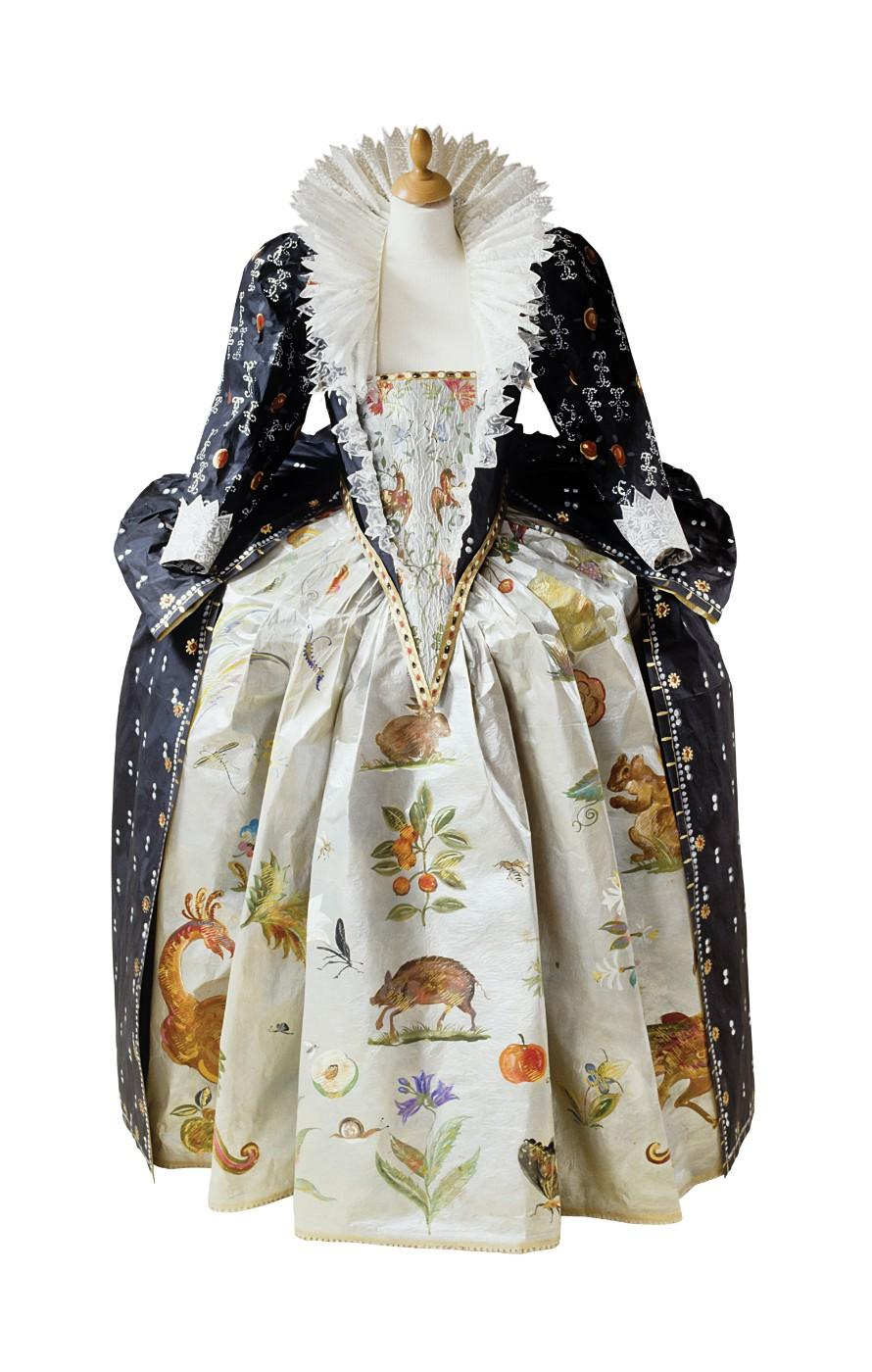 Isabelle de Borchgrave, Elizabeth I Court Dress, 2001