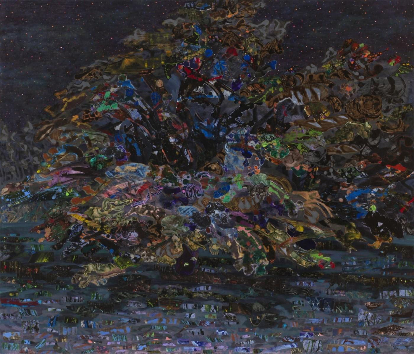 Mary Lou Zelazny, The Blackeyed Tree #2, 2017