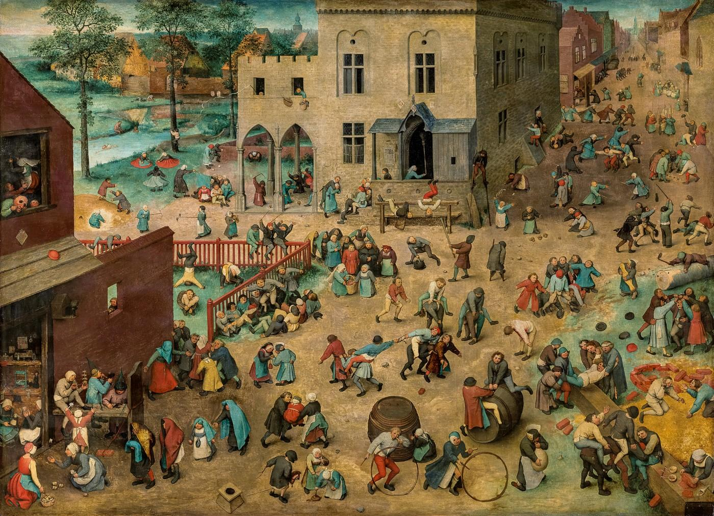 Pieter Bruegel the Elder, Children's Games, 1560