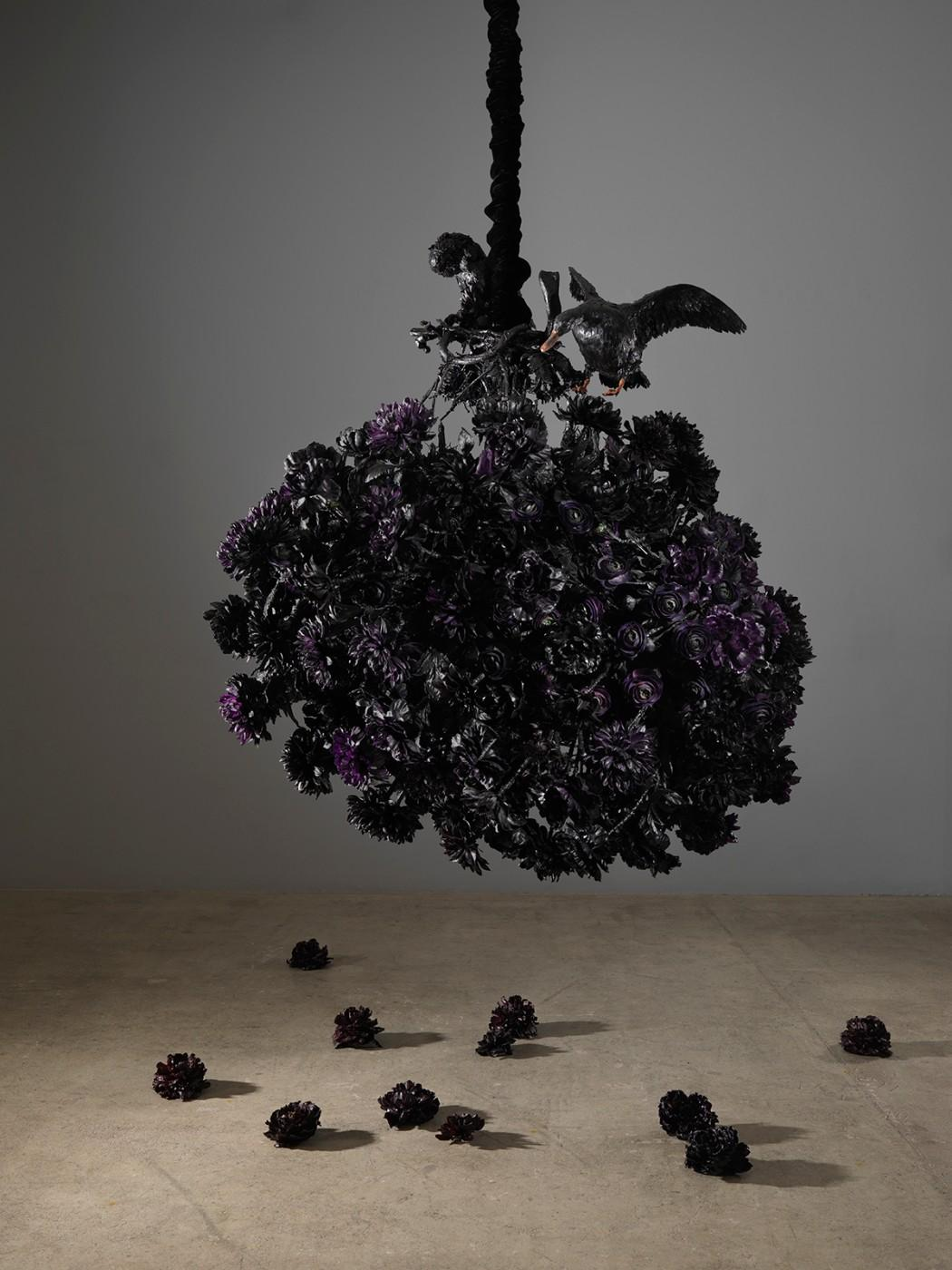 Petah Coyne, Untitled #1408 (The Lost Landscape), 2015-18