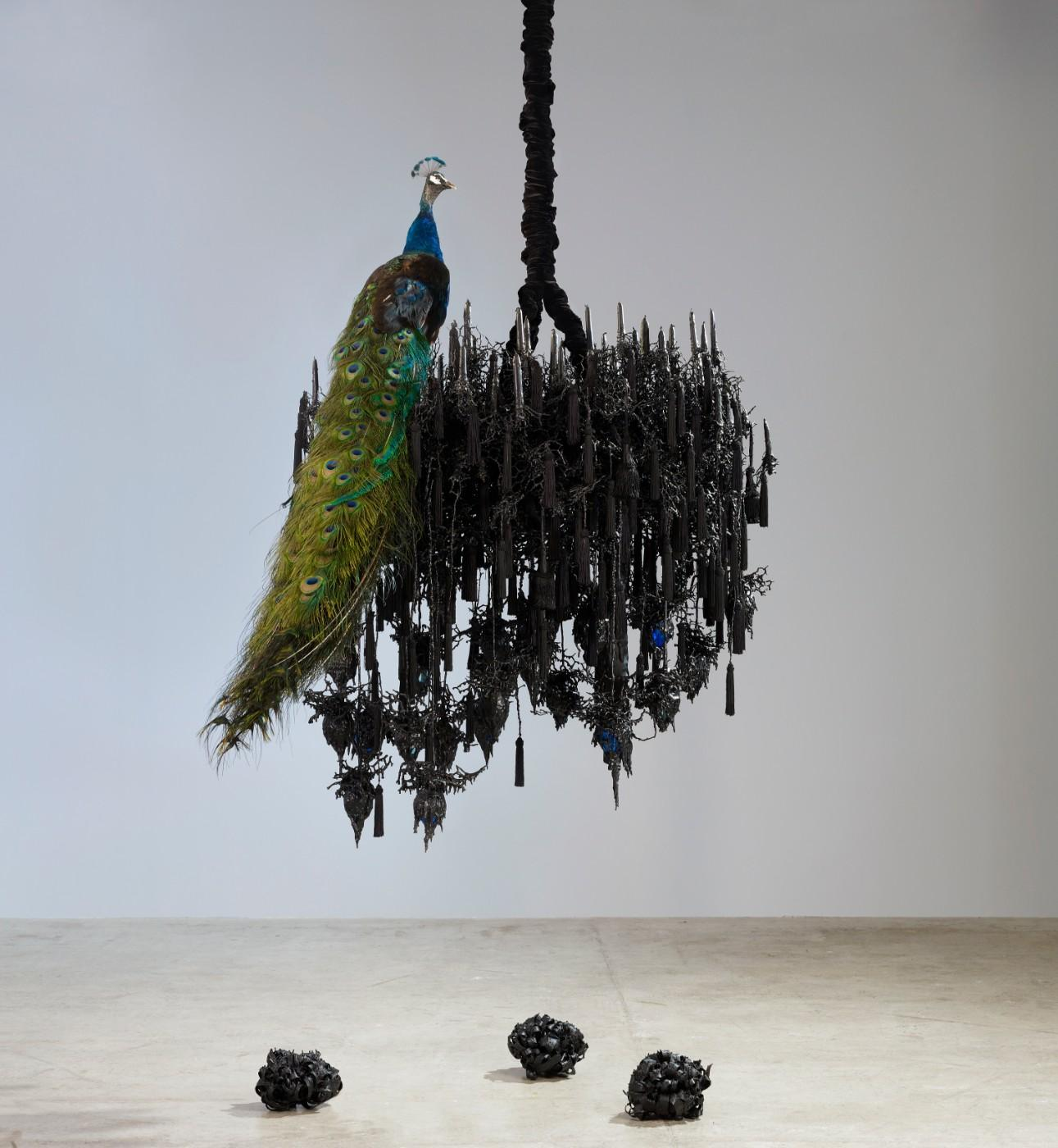 Petah Coyne, Untitled #1242 (Black Snowflake), 2007-2012