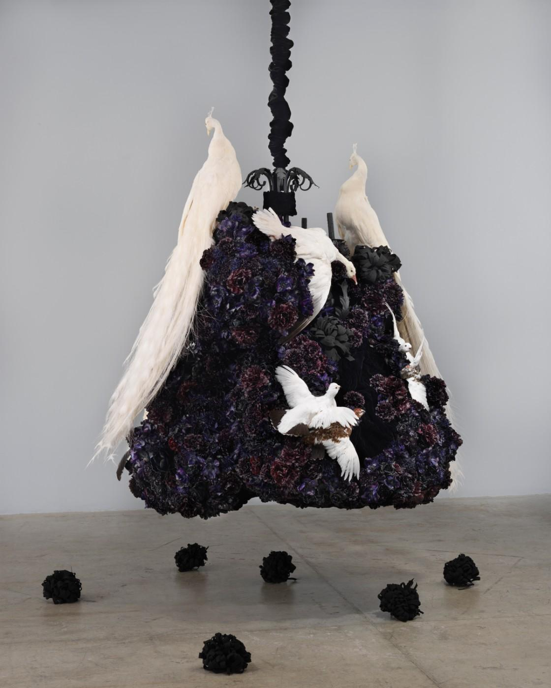 Petah Coyne, Untitled #1375 (No Reason Except Love: Portrait of a Marriage), 2011-12