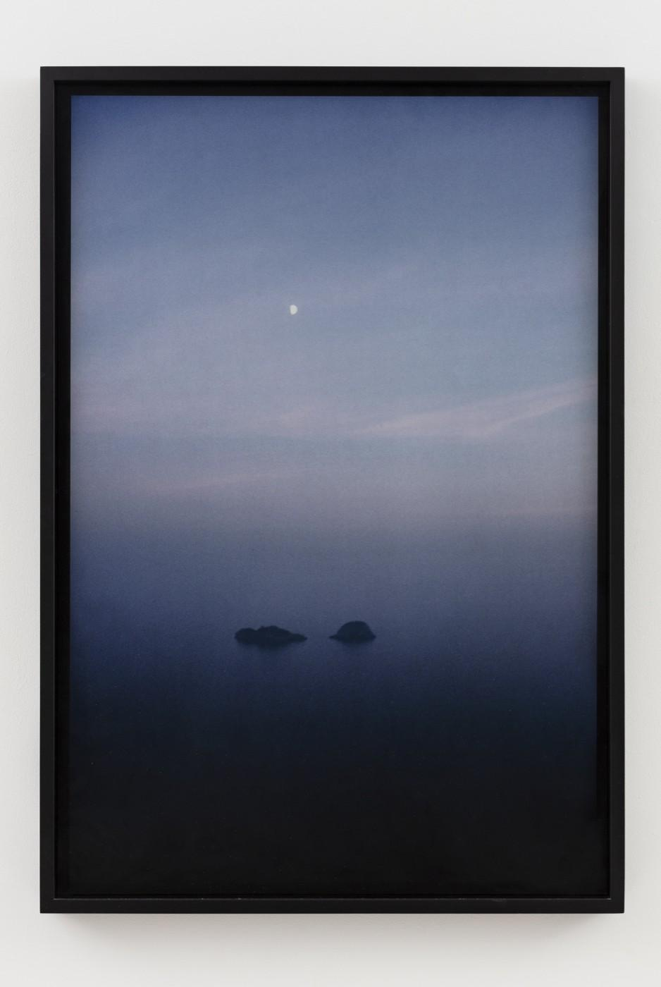 Nan Goldin (American, b. 1953), Half moon over I Galli, Positano, 1986