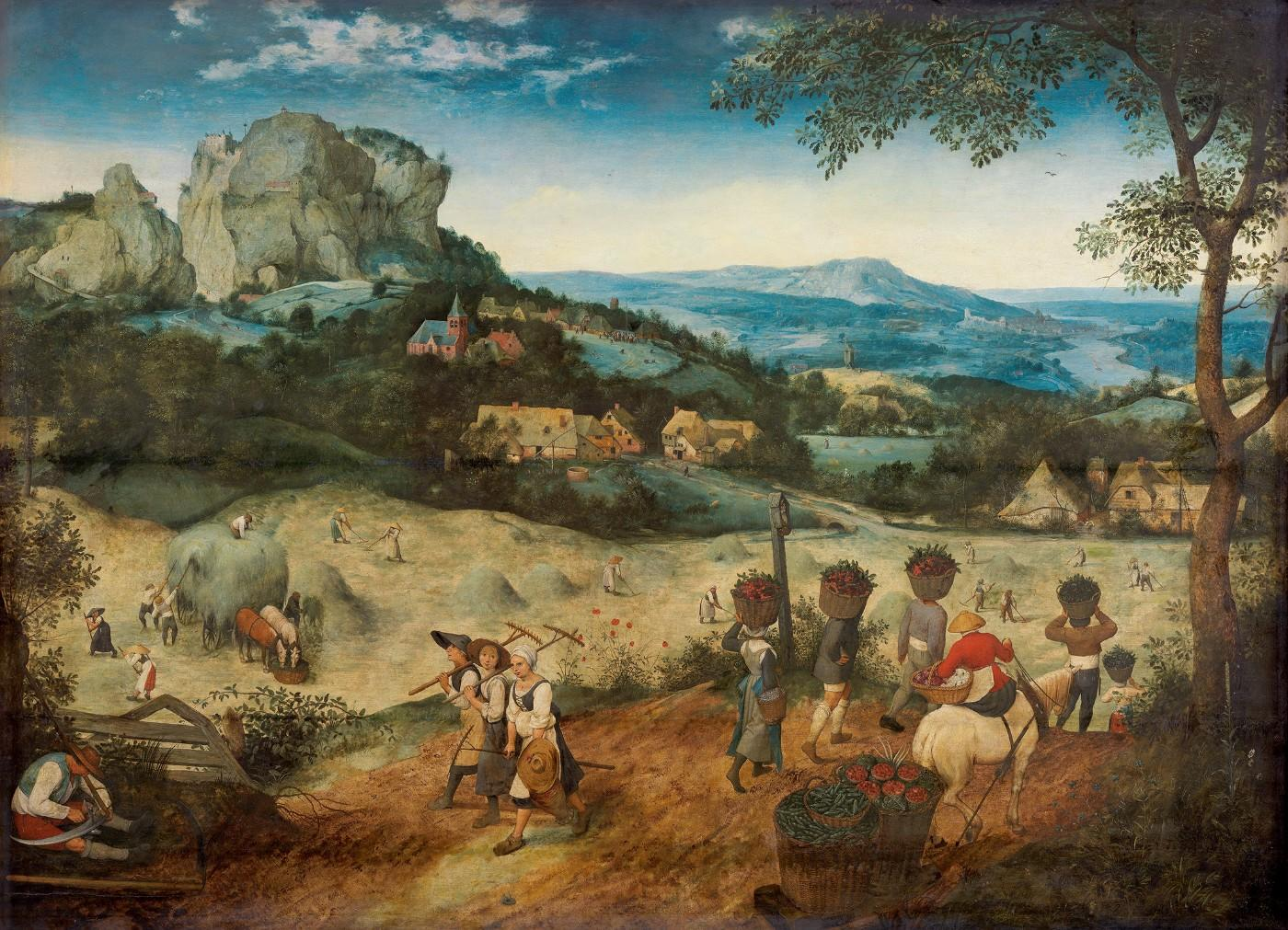 Pieter Bruegel the Elder, The Haymaking, 1565