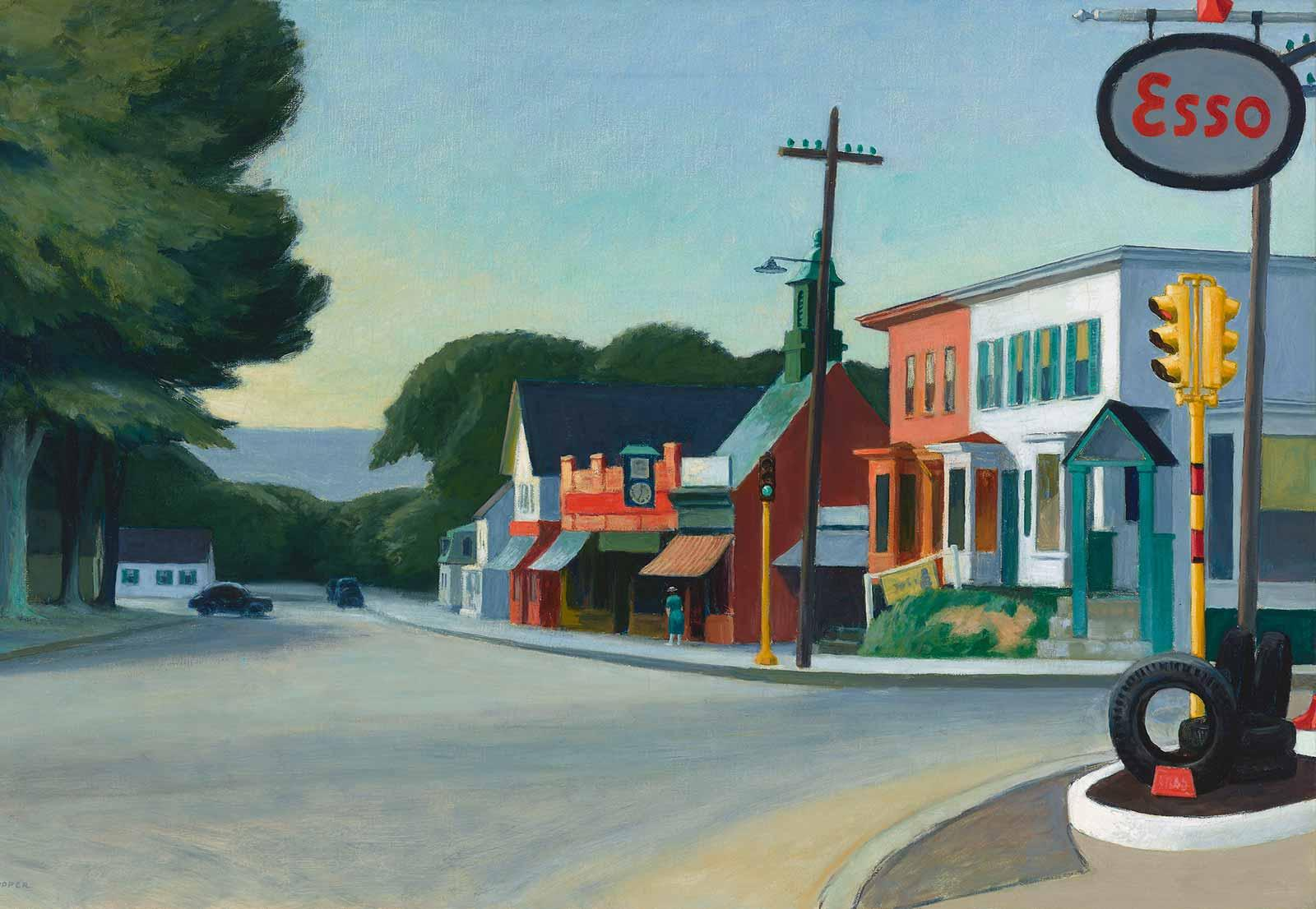Edward Hopper, Portrait of Orleans, 1950.