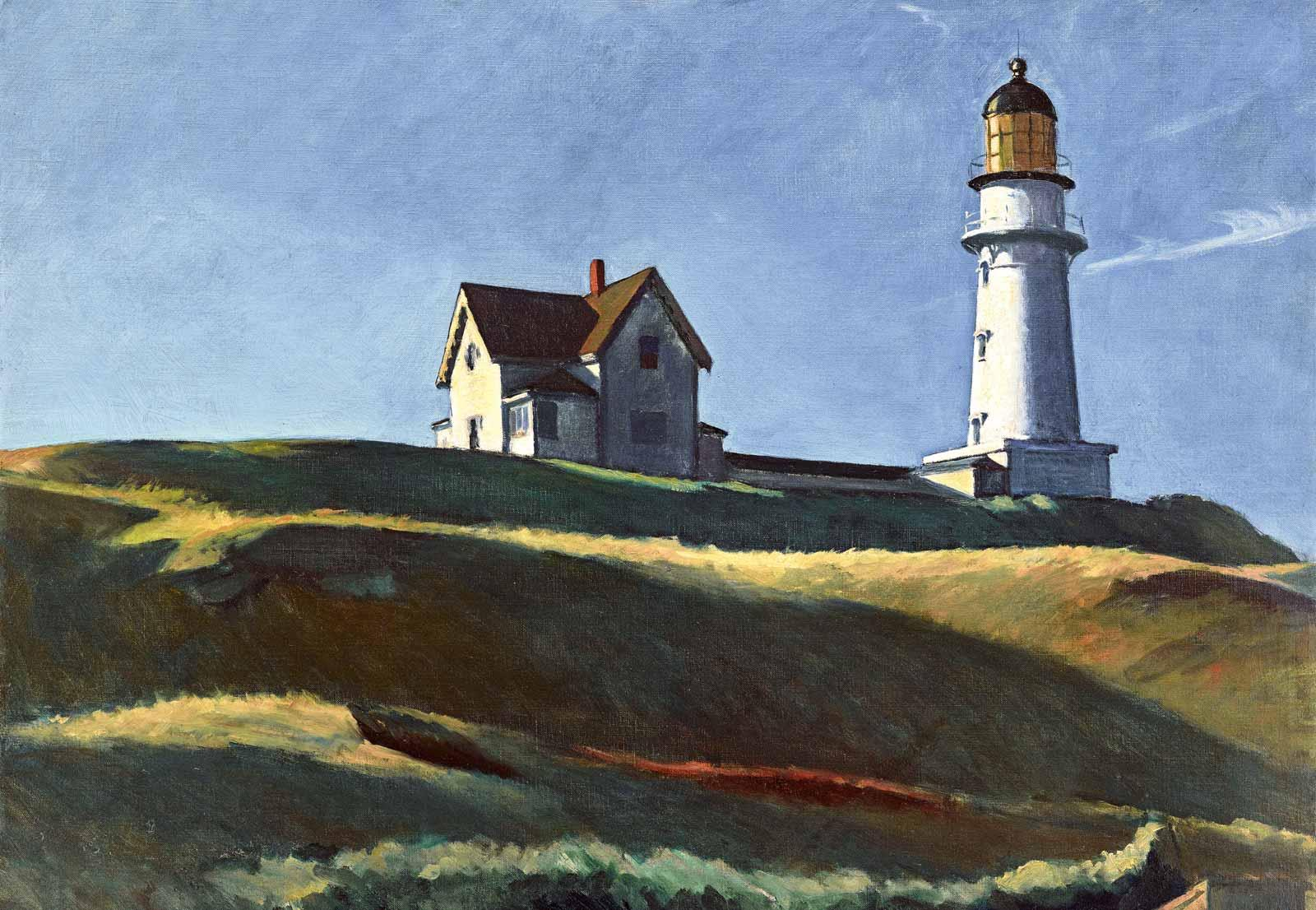 Edward Hopper, Lighthouse Hill, 1927.