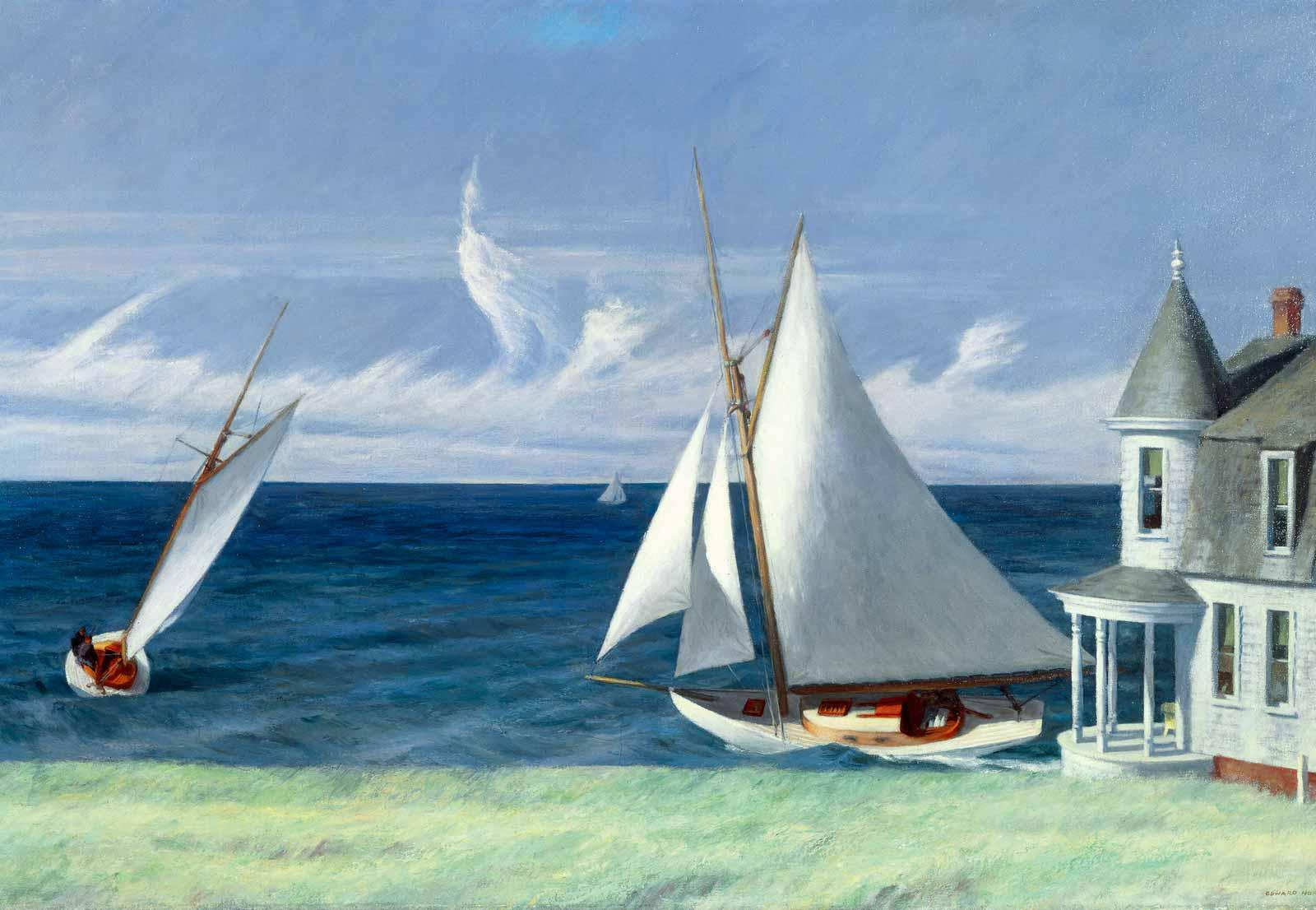 Edward Hopper, Lee Shore, 1941.