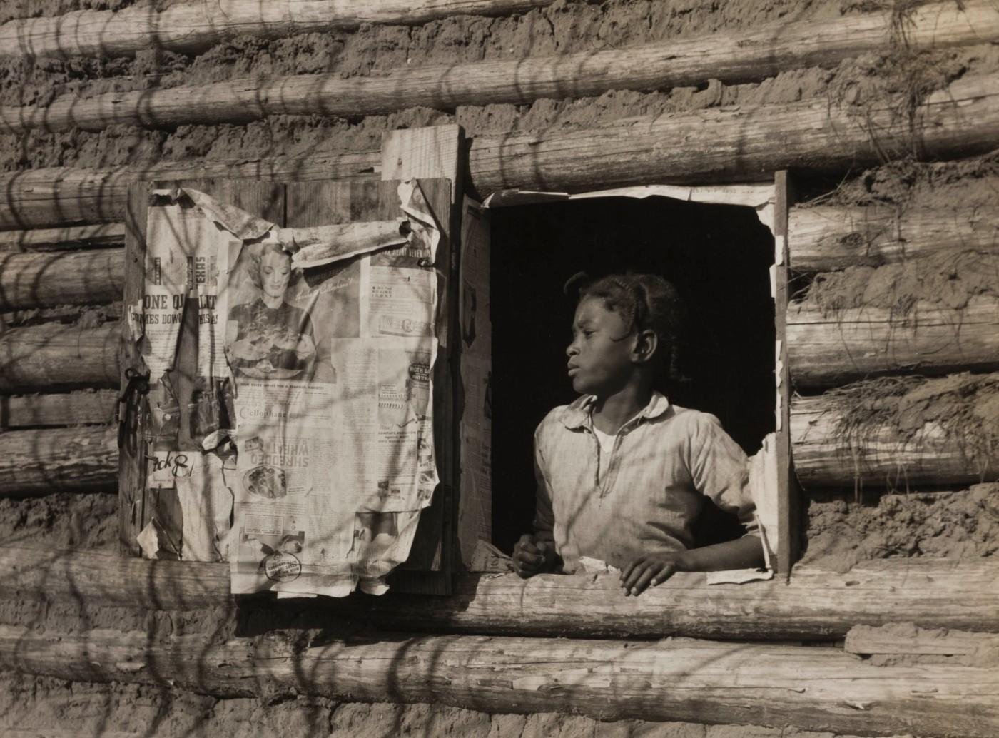 Arthur Rothstein, Girl at Gee's Bend, Alabama [Artelia Bendolph], April 1937