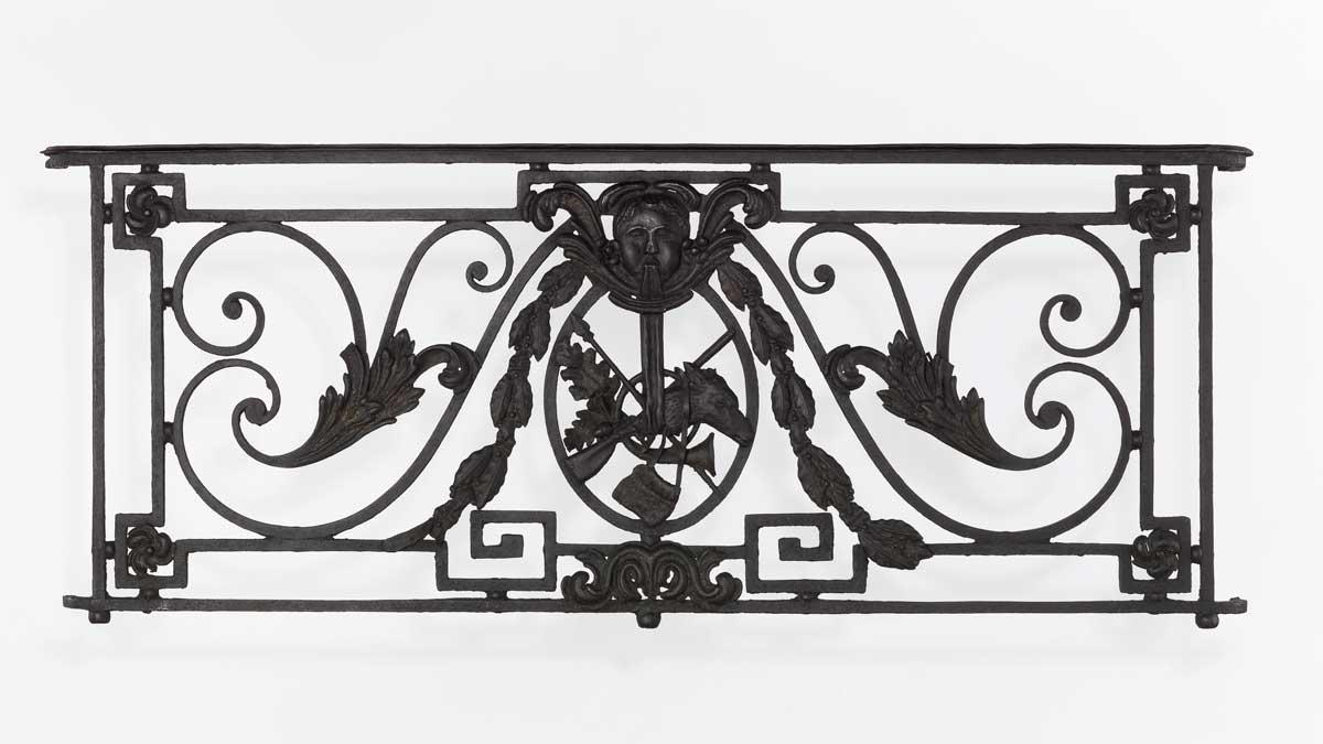 Balcony Grille, French, 18th century.