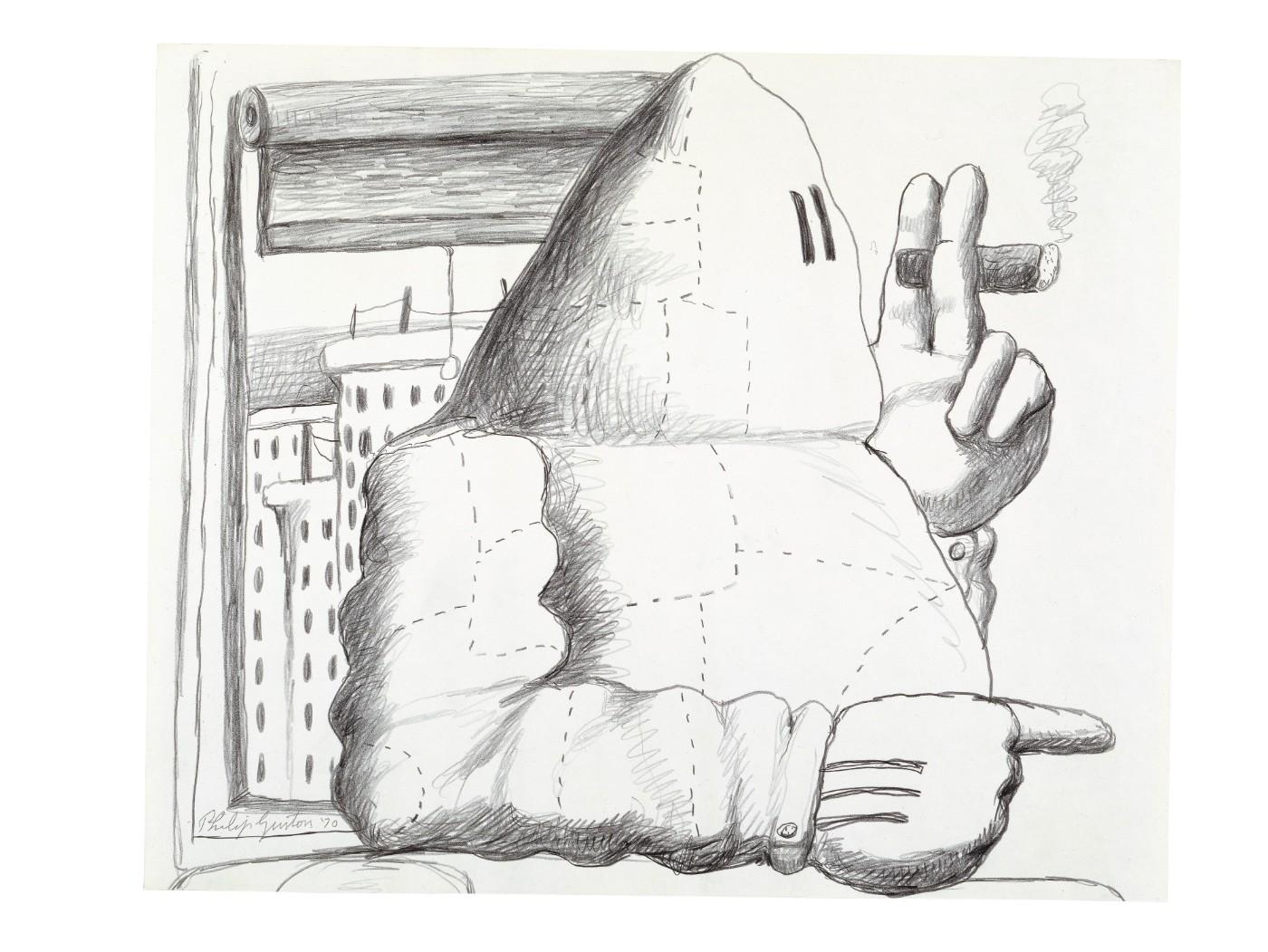 Philip Guston, Window, 1969