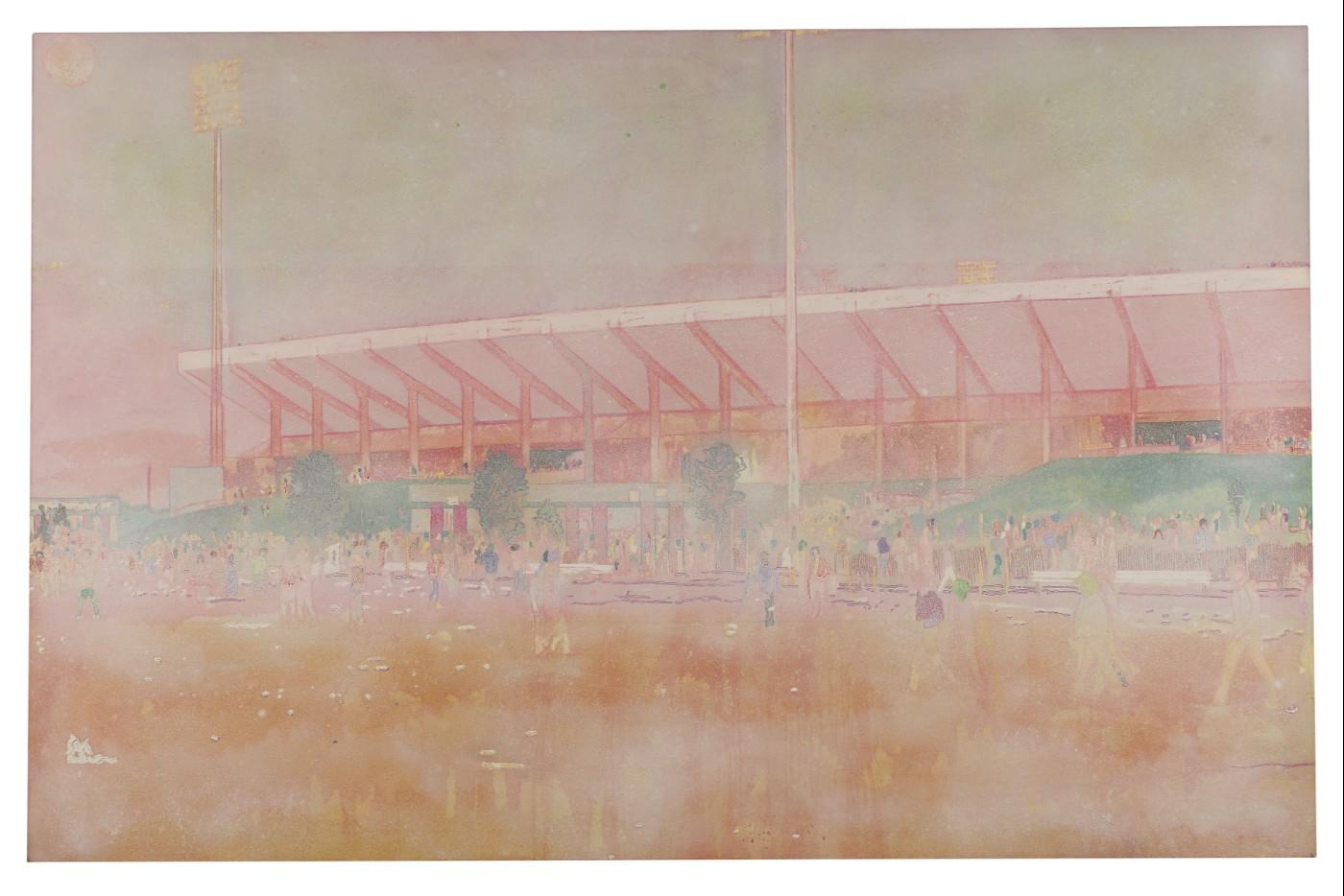 Peter Doig, Buffalo Station I, 1997-1998