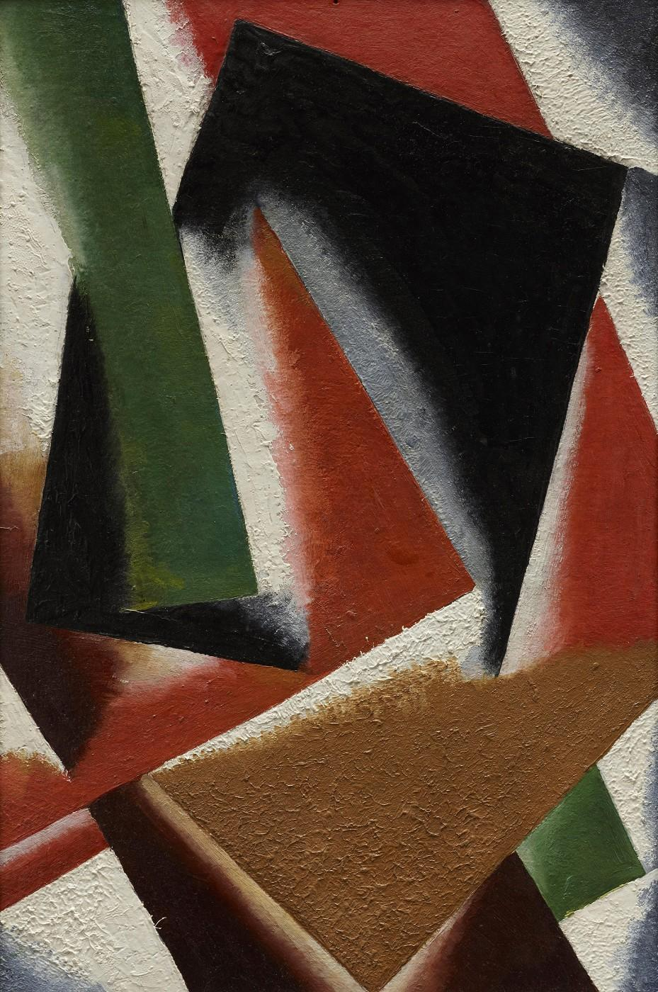 Lyubov Popova, Painterly Architectonics, 1918