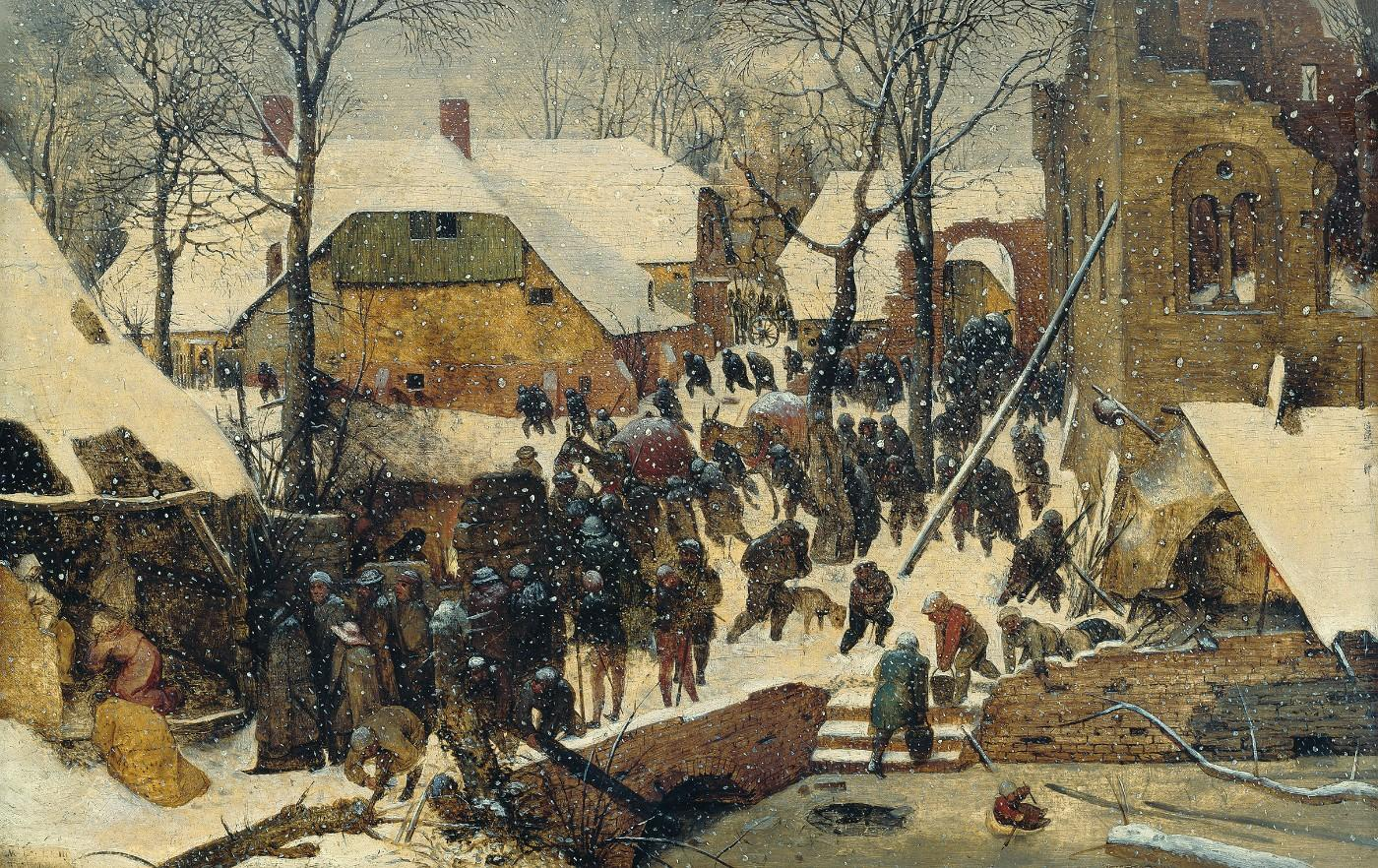 Pieter Bruegel the Elder, The Adoration of the Magi in the Snow, 1563
