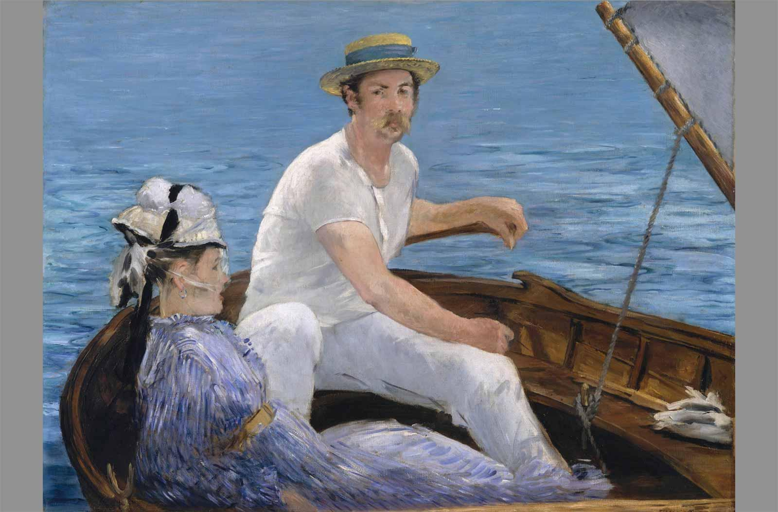 Édouard Manet. Boating, 1874–75.