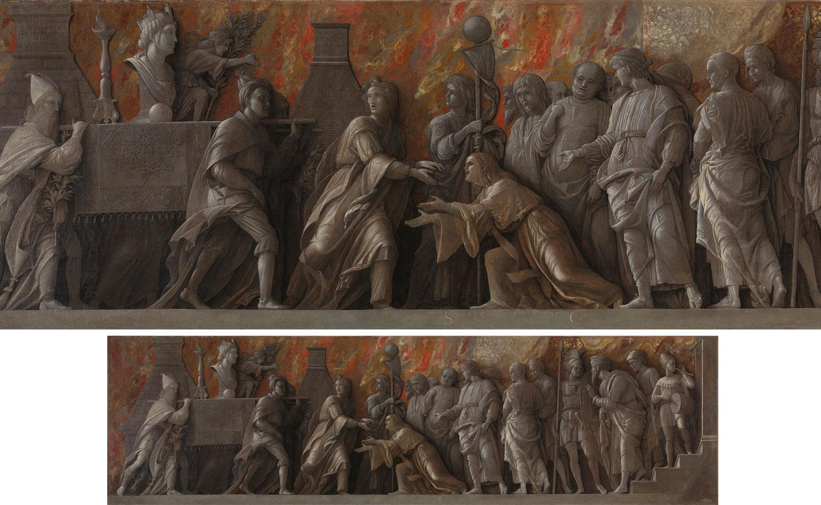 Introduction of the Cult of Cybele to Rome by Andrea Mantegna.