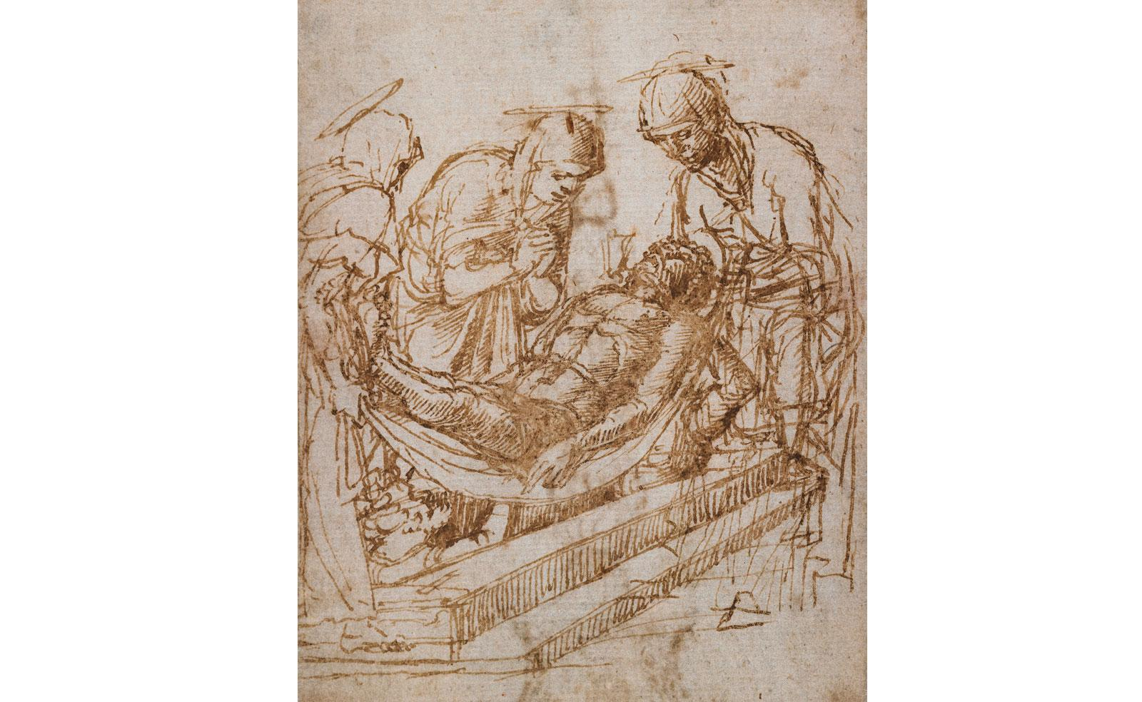Deposition by Andrea Mantegna.