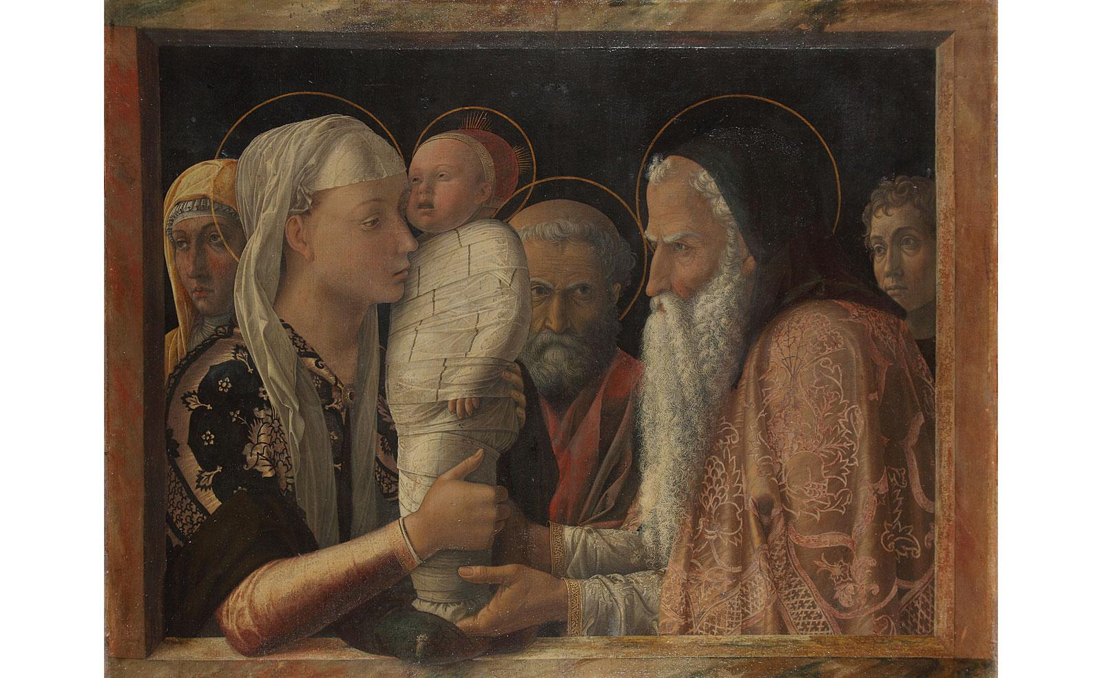 Presentation at the Temple by Andrea Mantegna.