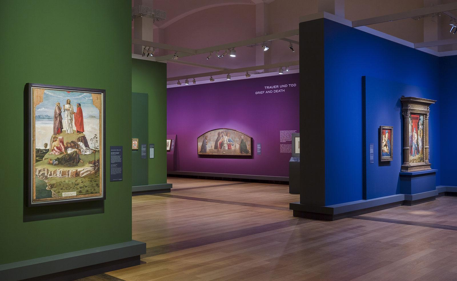 Mantegna and Bellini. Masters of the Renaissance, Exhibition view.