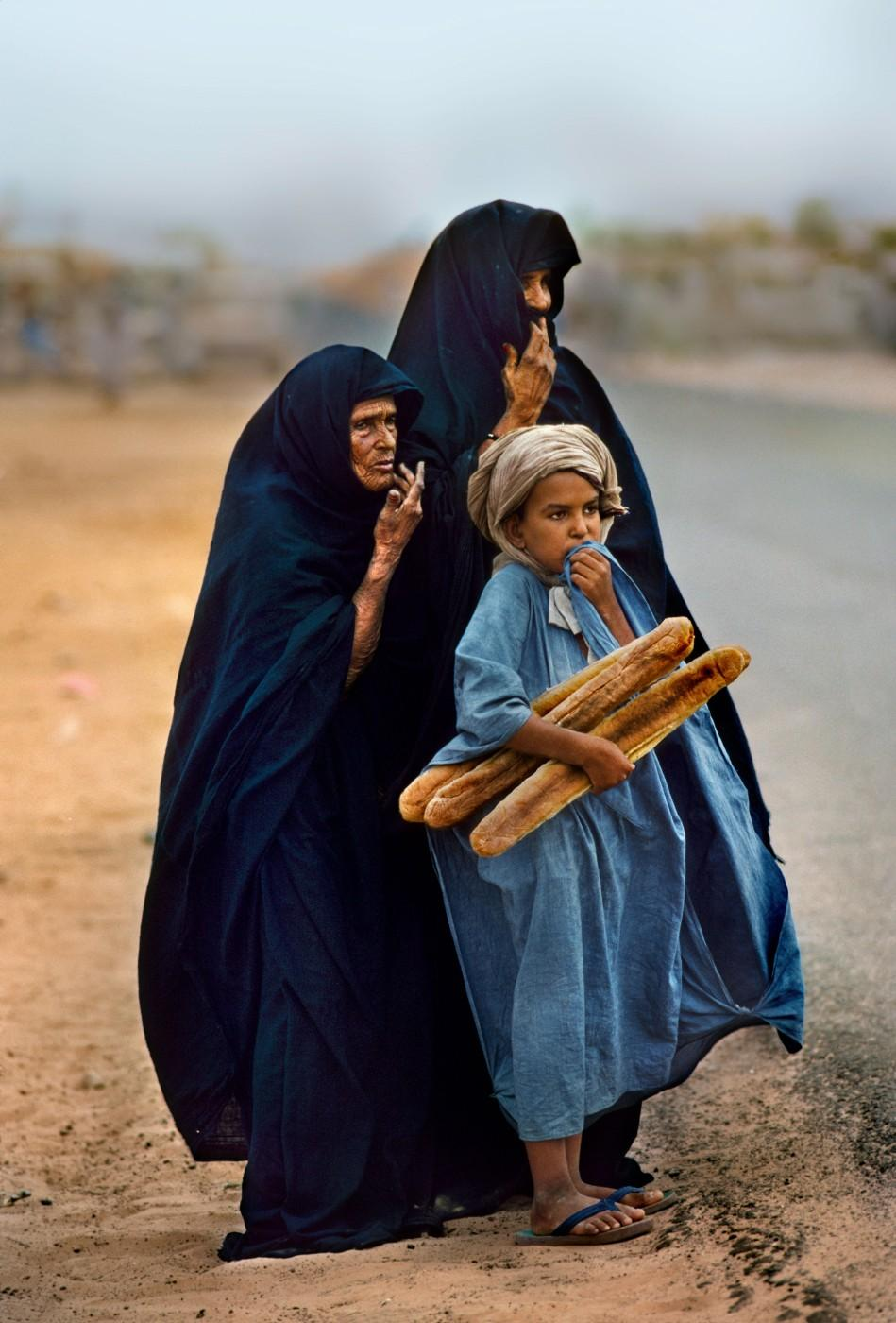 Steve McCurry, Mauritania, 1986.