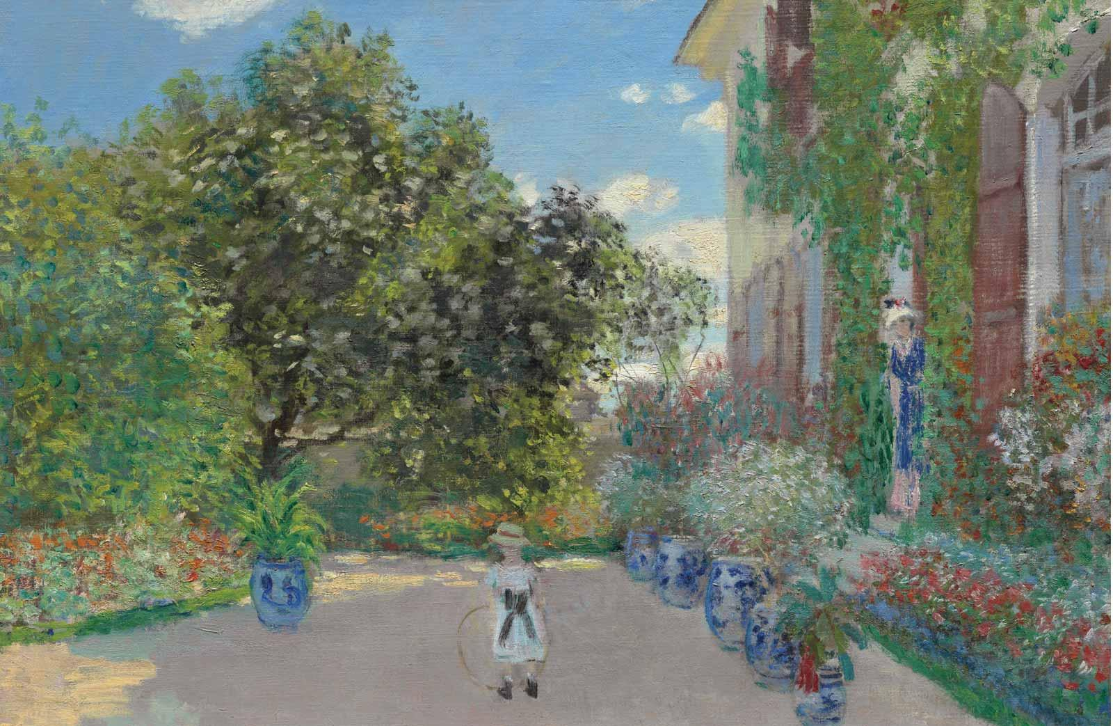 Claude Monet, The Artist's House at Argenteuil, 1873.