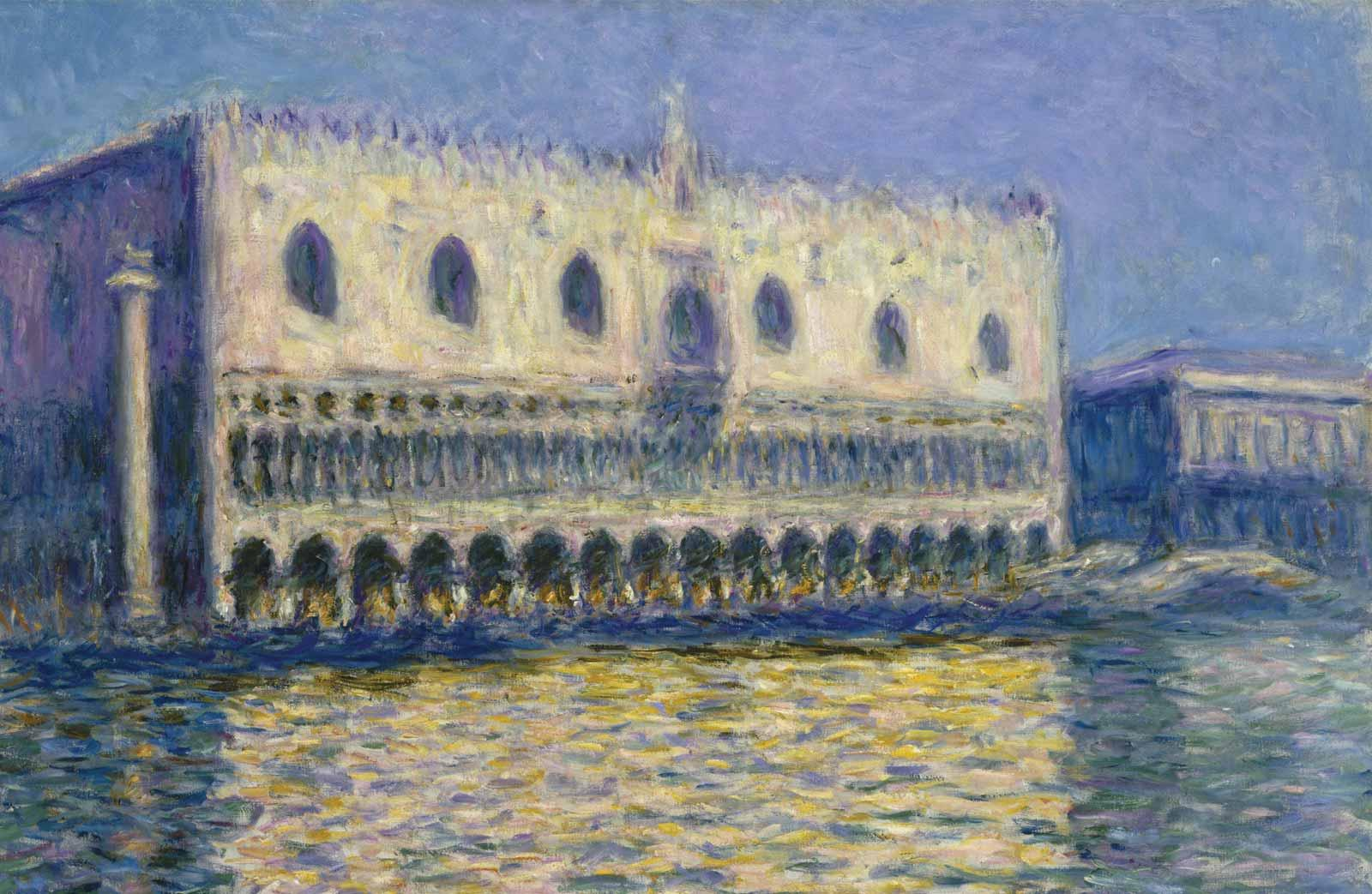 Claude Monet, The Doge's Palace, 1908.