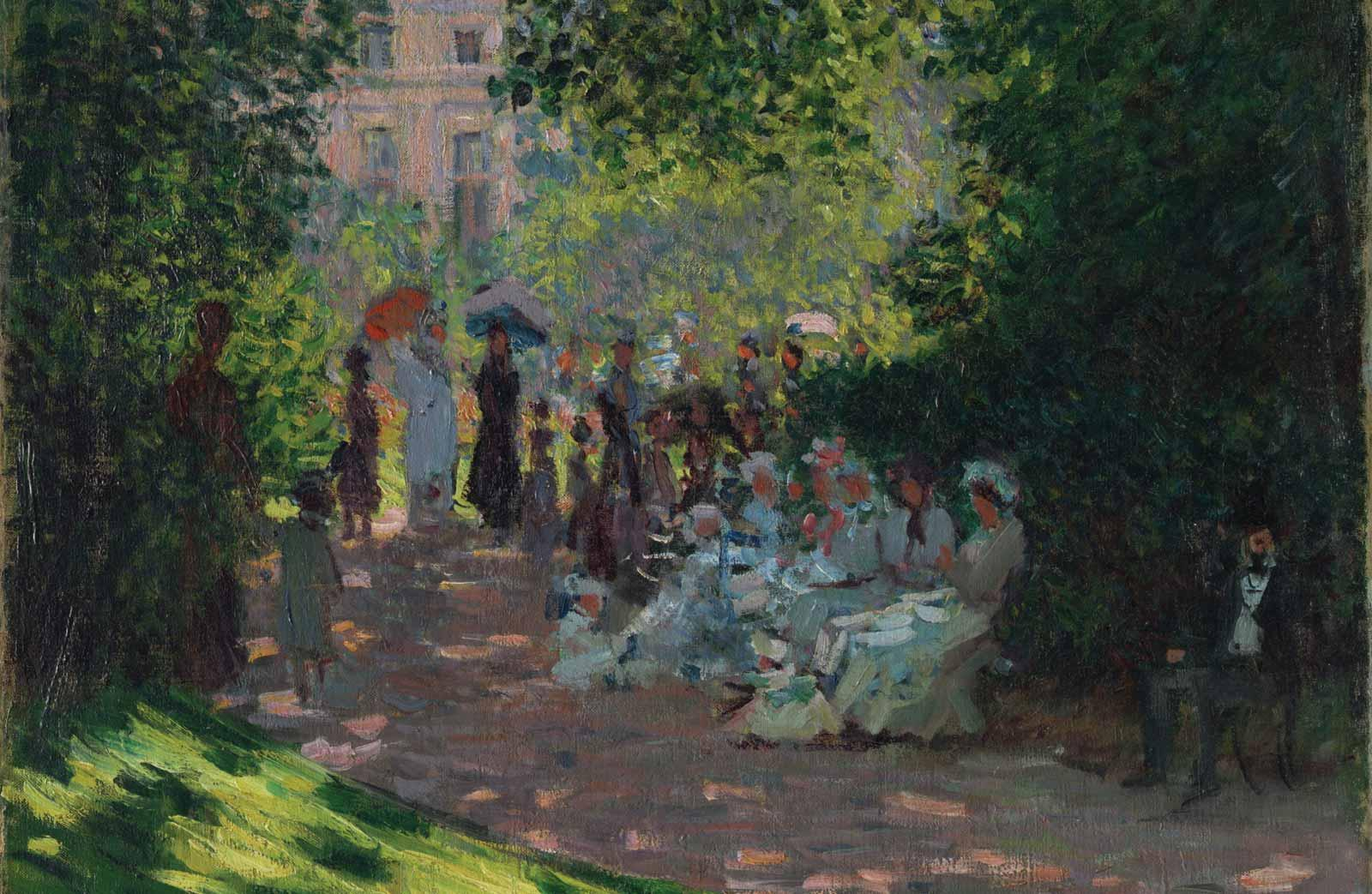 Claude Monet, The Parc Monceau, 1878.
