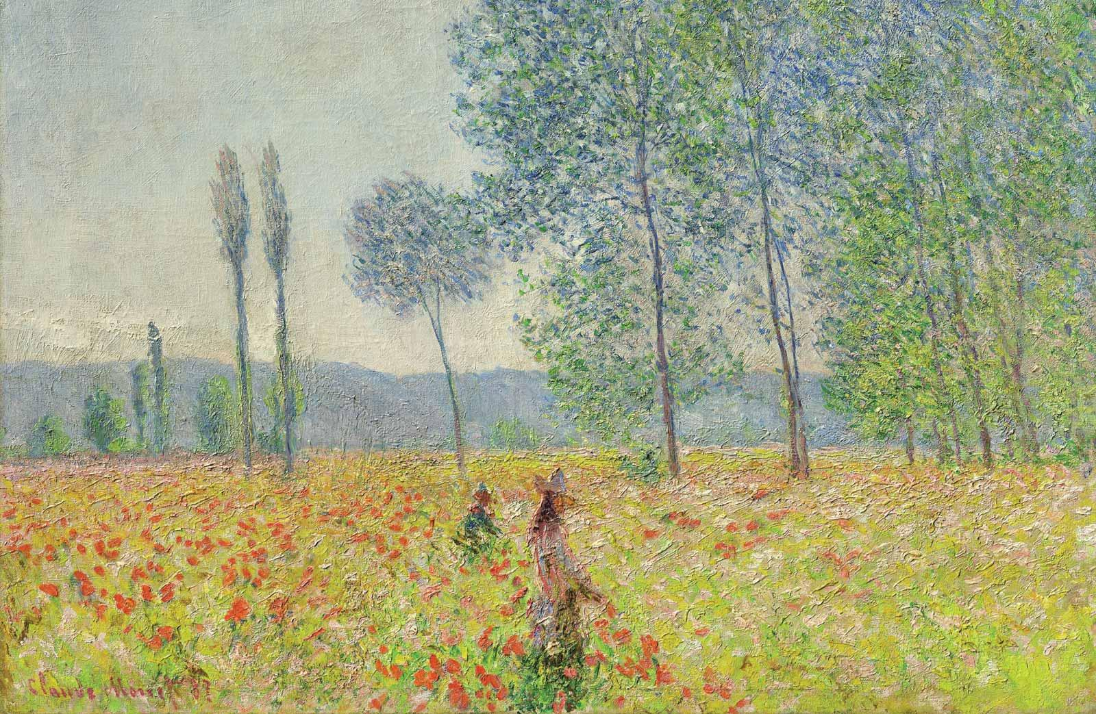 Claude Monet, Under the Poplars, 1887.
