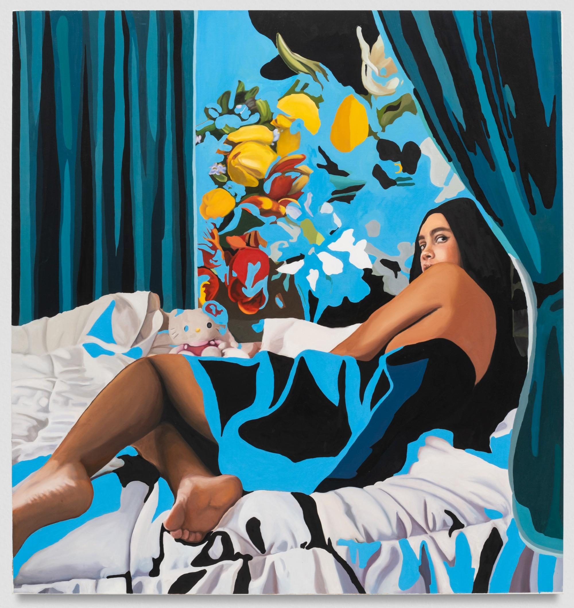 Darryl Westly, Odalisque (Jules), 2019. Oil on canvas,.