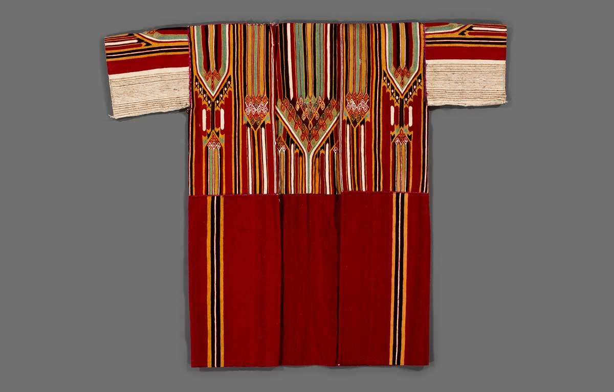 "Man's Coat (""Saye""), mid-19th century. Syria. Wool."