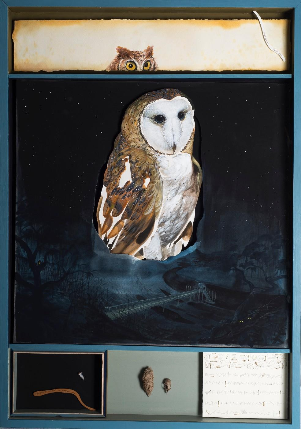 Hitnes, Barn Owl (One thing done well, only one), 2017