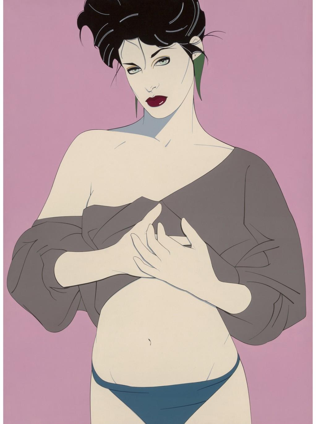 Patrick Nagel, Untitled