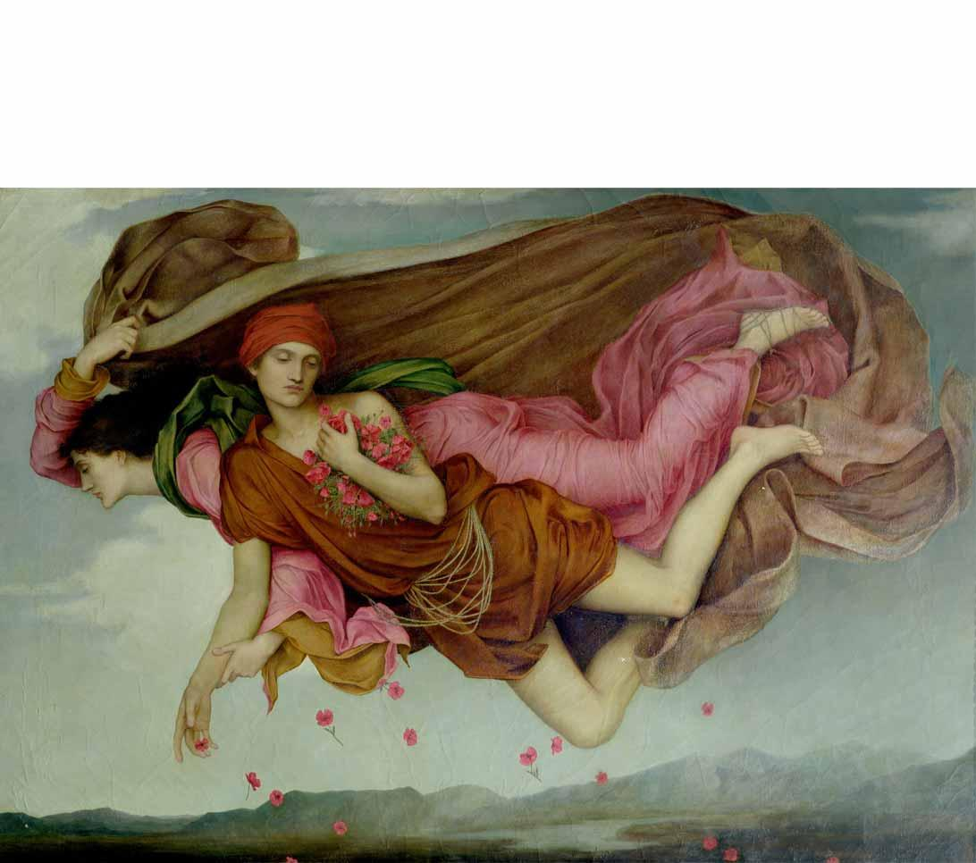 Night and Sleep by Evelyn De Morgan, 1878.