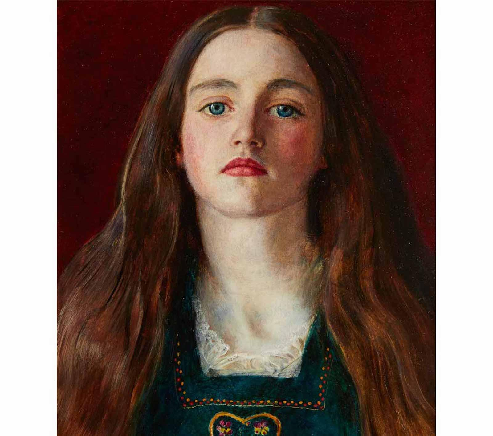 Sophy Gray by John Everett Millais, 1856.