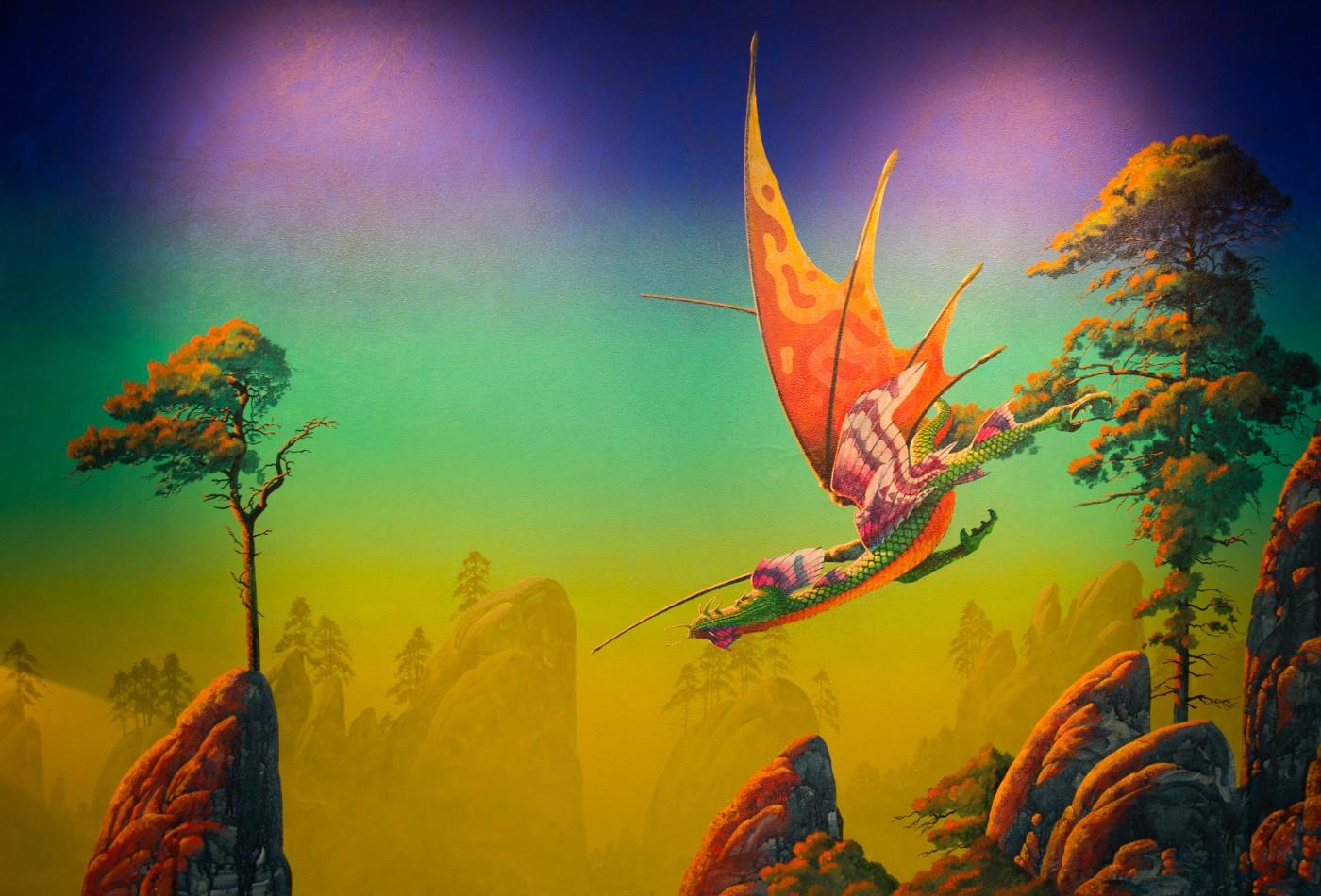 Roger Dean, Dragon at Dawn