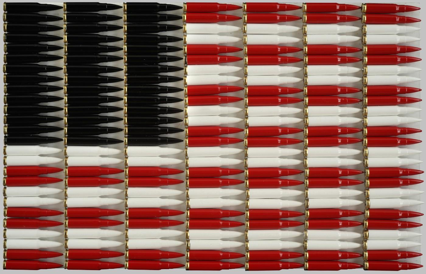 Michele Pred, Red White and Black, 2016