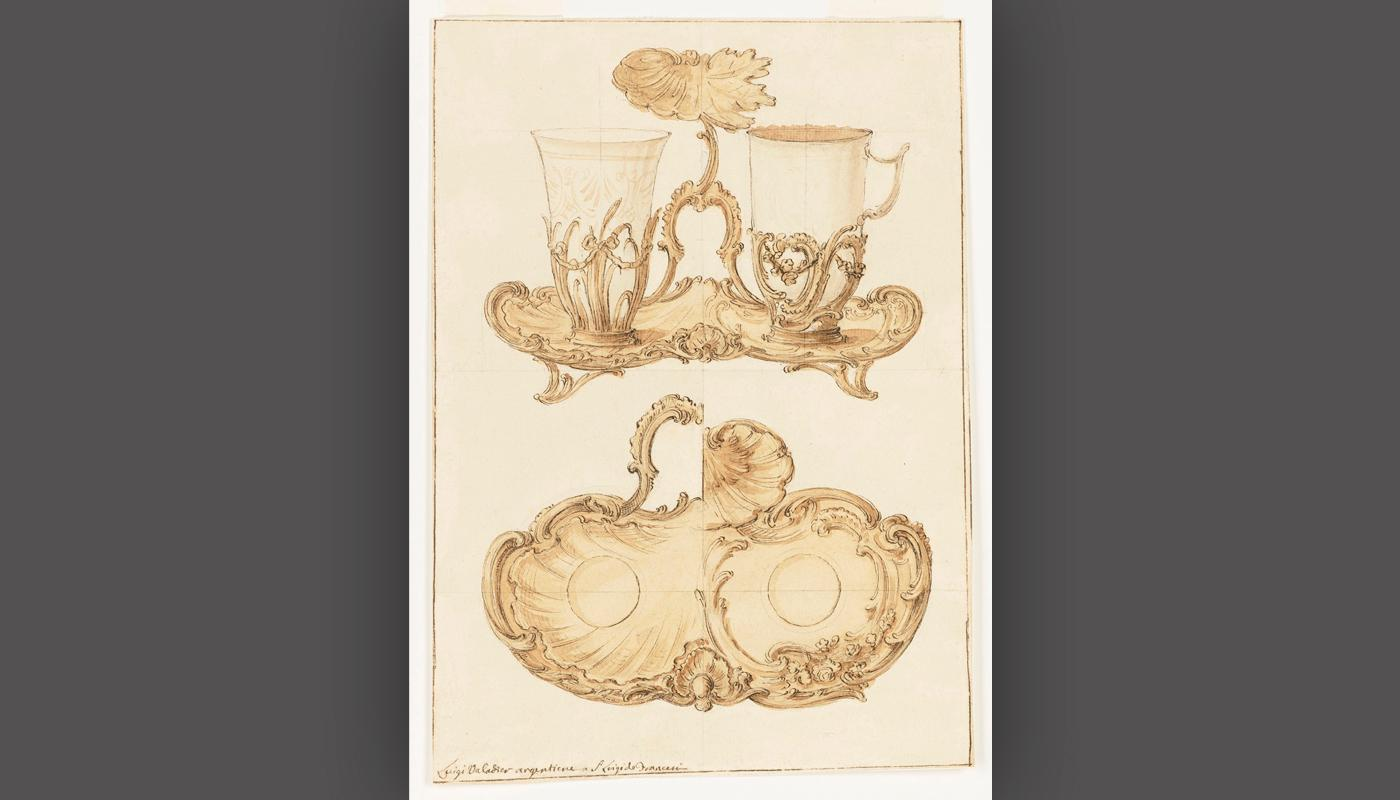 Design for a Trembleuse (Digiuné), before 1762