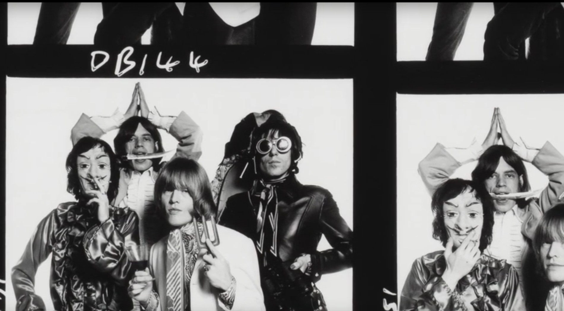 Rolling stones contact sheet David Bailey