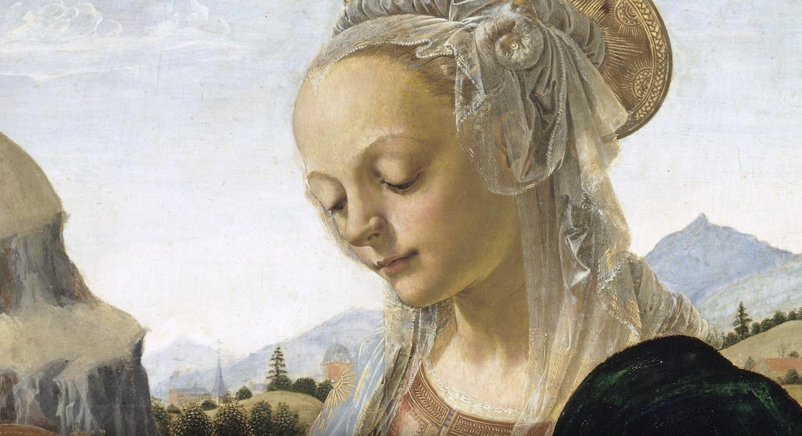 detail of Verrocchio