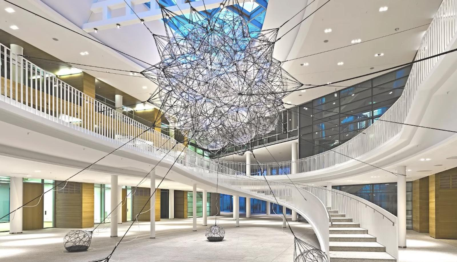 European Patent Office, Flying Garden installation