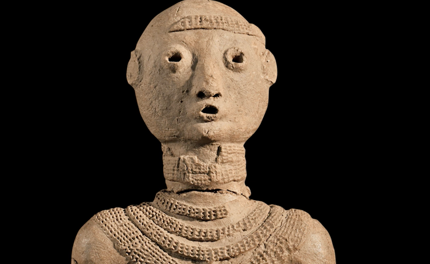 Image of sculpture depicting human figure