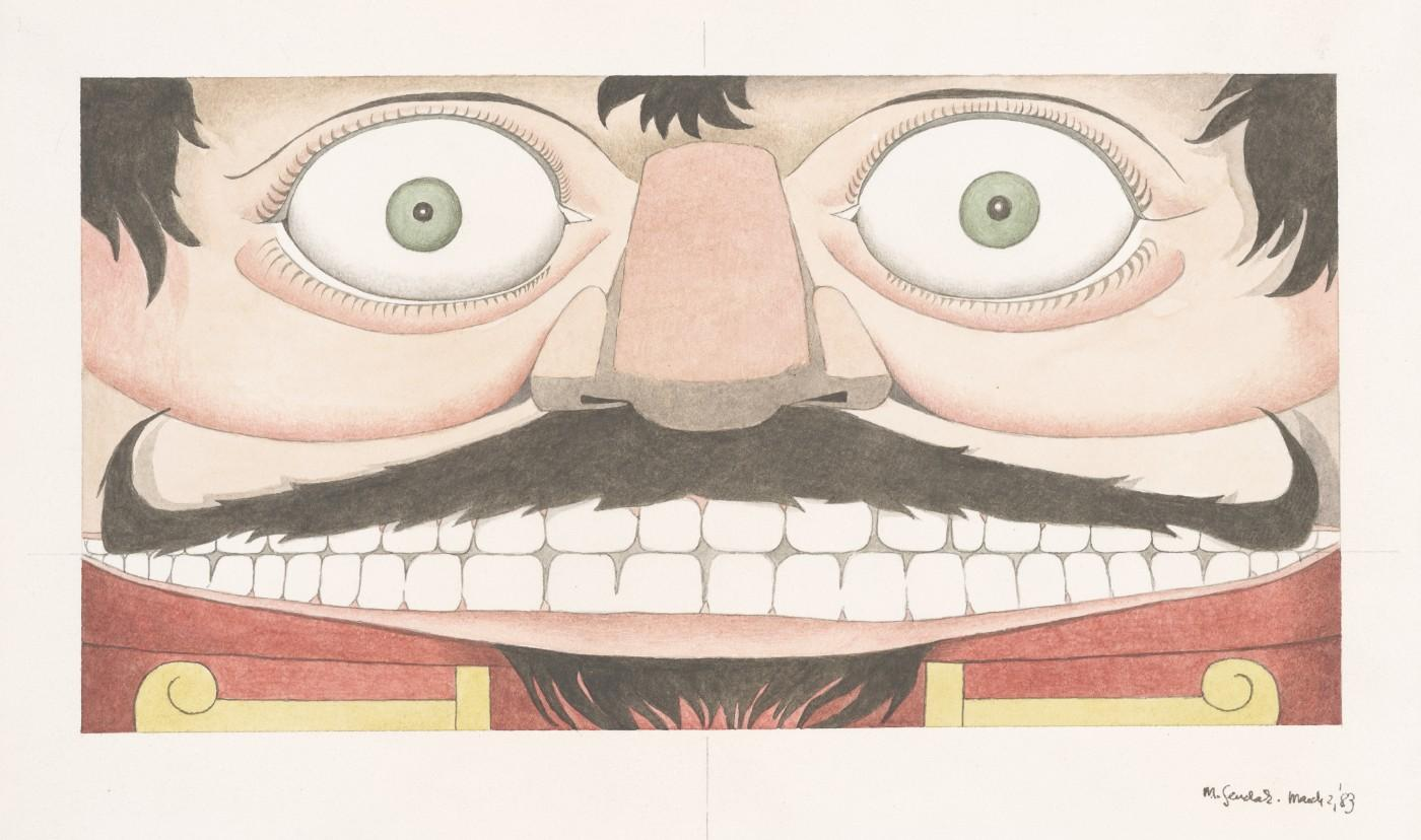 Maurice Sendak (1928-2012), Design for show curtain (Nutcracker), 1983