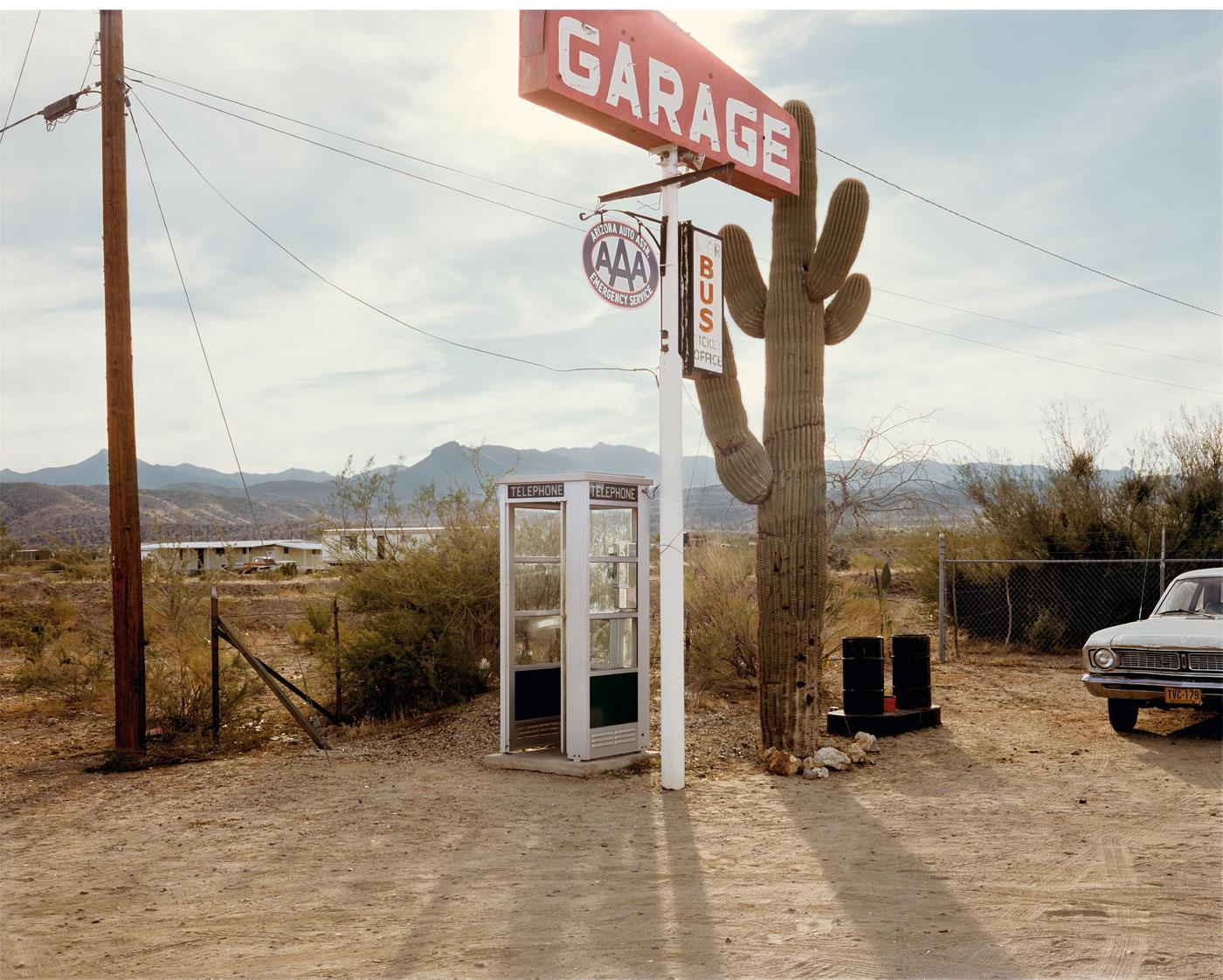 Telephone Booth by Stephen Shore