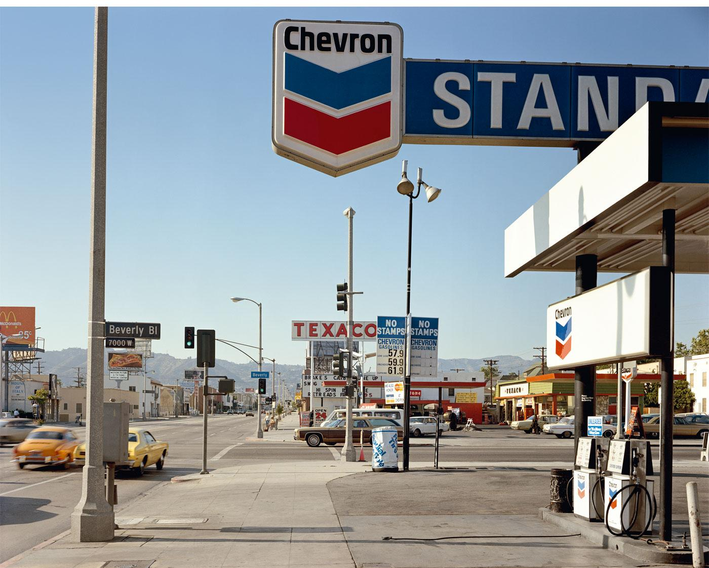 Gas Station by Stephen Shore
