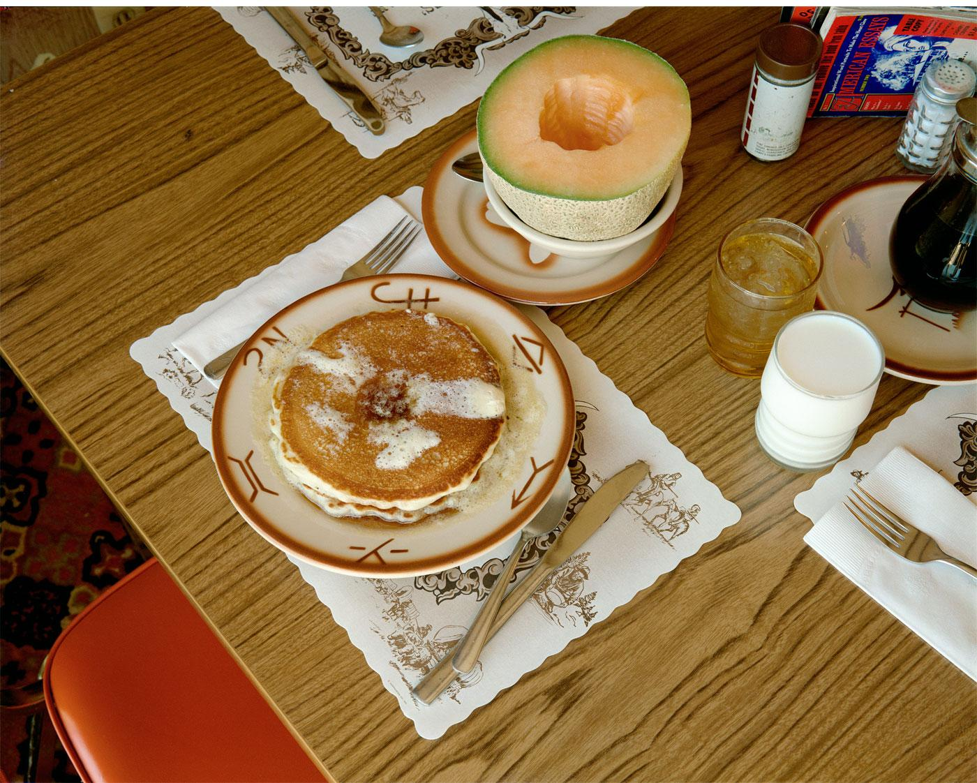 Pancakes by Stephen Shore