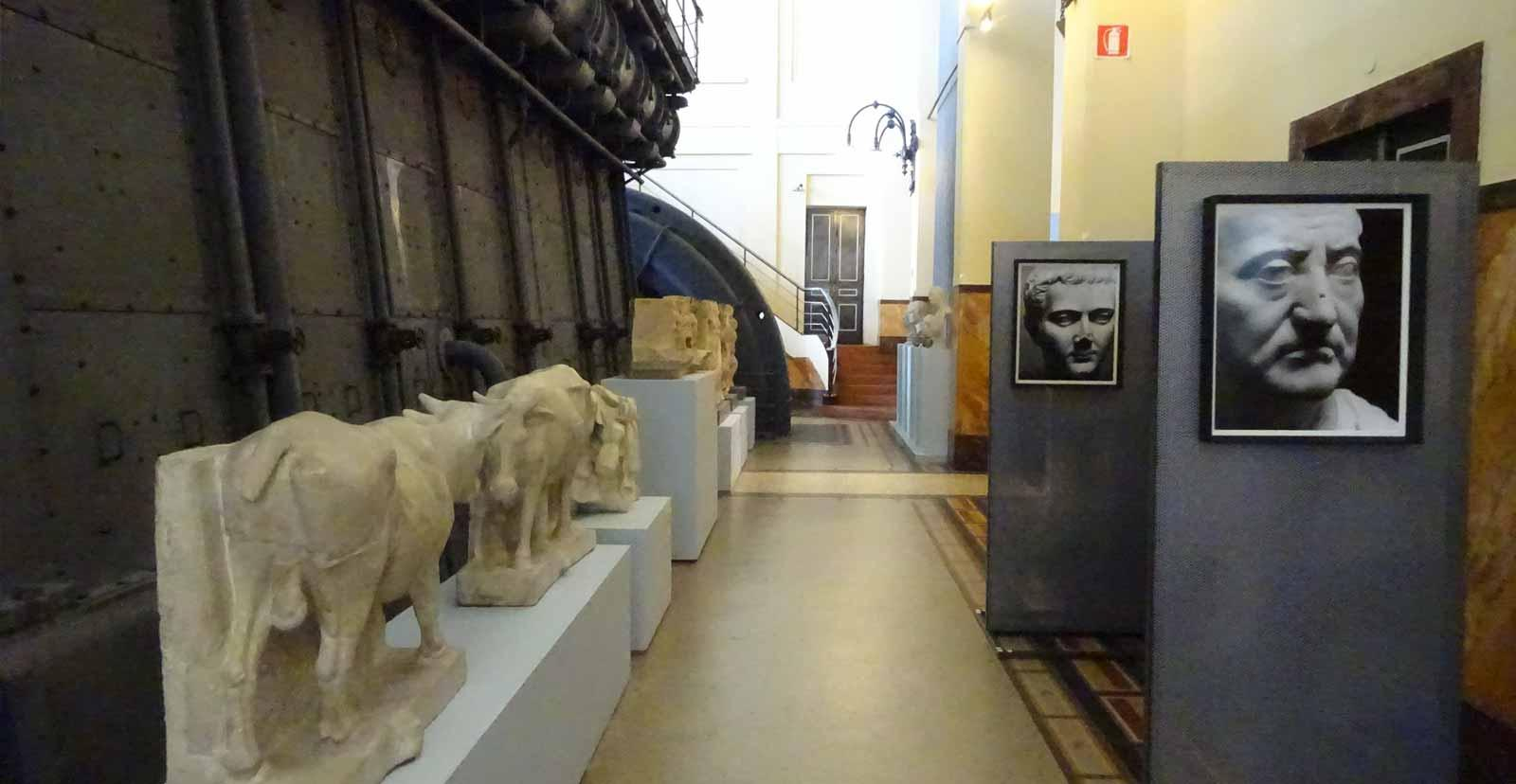 Exhibition in Museo Centrale Montemartini.