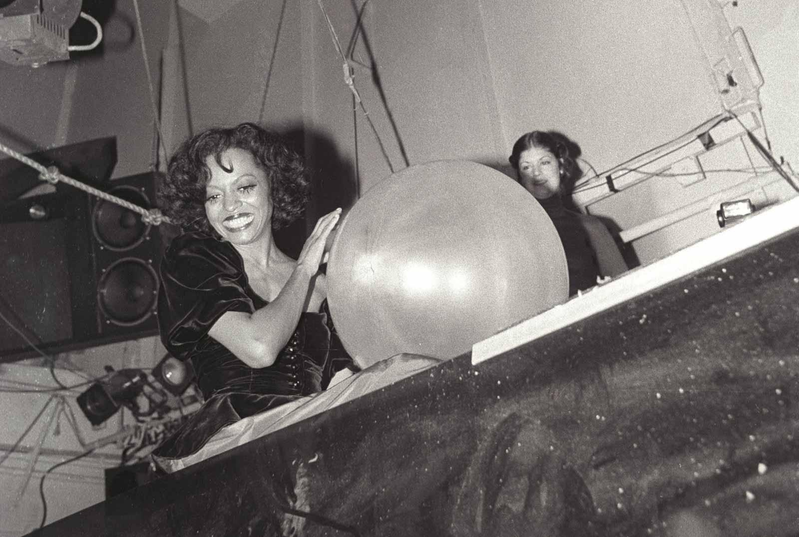 Diana Ross, New Year's Eve, 1979.