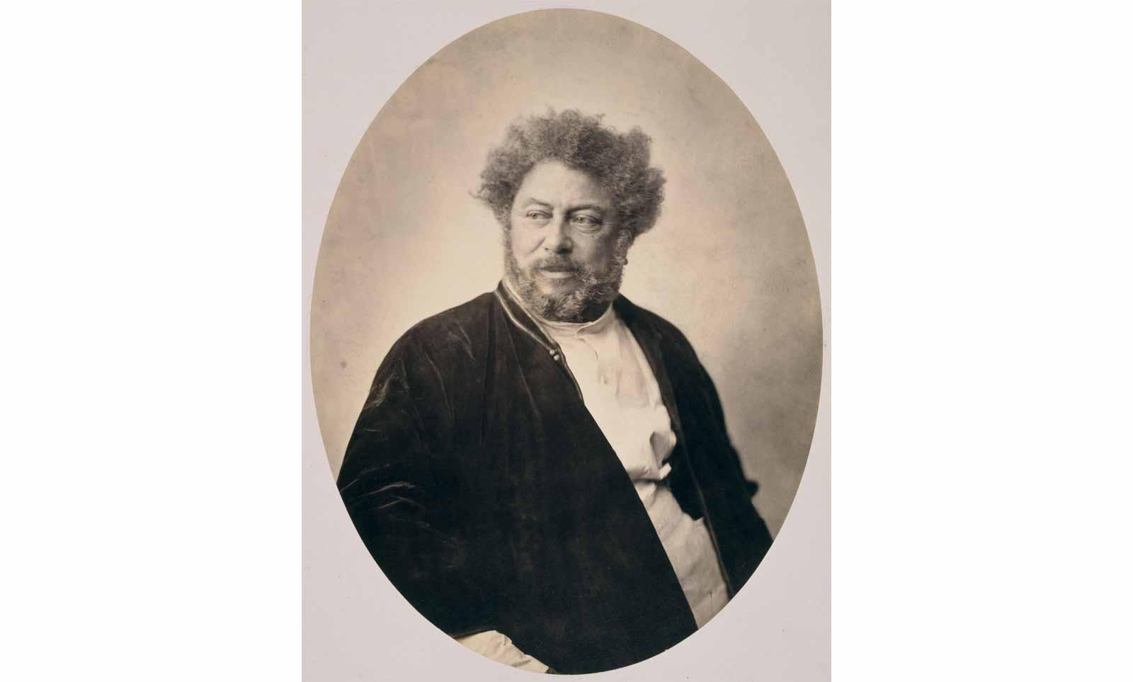 Gustave Le Gray (1820-1884), Portrait of Alexandre Dumas in Russian costume, 1859