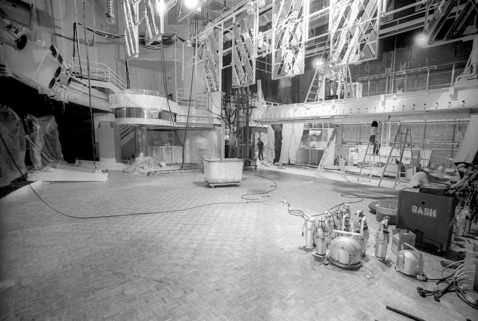 Dance Floor Renovation, 1981.